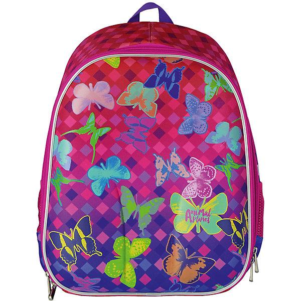 Рюкзак школьный ANIMAL PLANET Бабочки