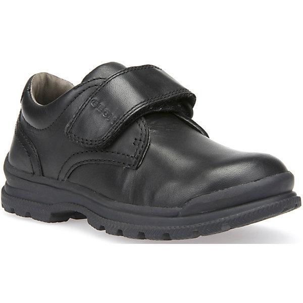 Купить Ботинки для мальчика Geox, Индия, черный, 33, 38, 37, 36, 35, 34, 32, 31, 30, 29, 28, 39, Мужской