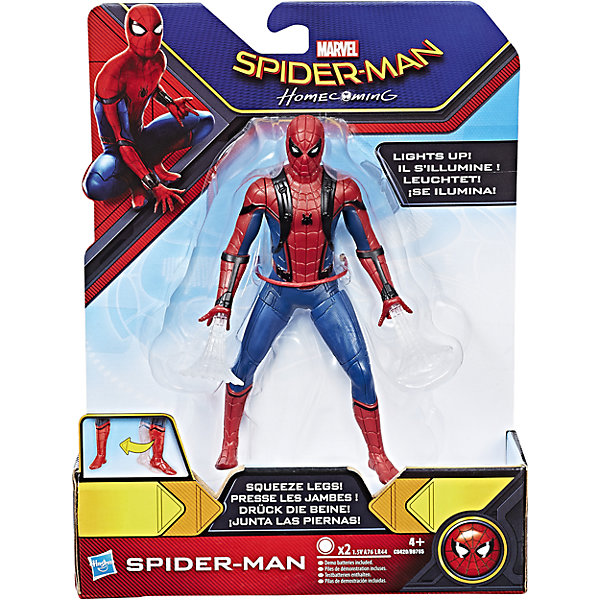 Купить Фигурка, 15 см из нового фильма Человек Паук, B9765/C0420, Hasbro, Вьетнам, Мужской