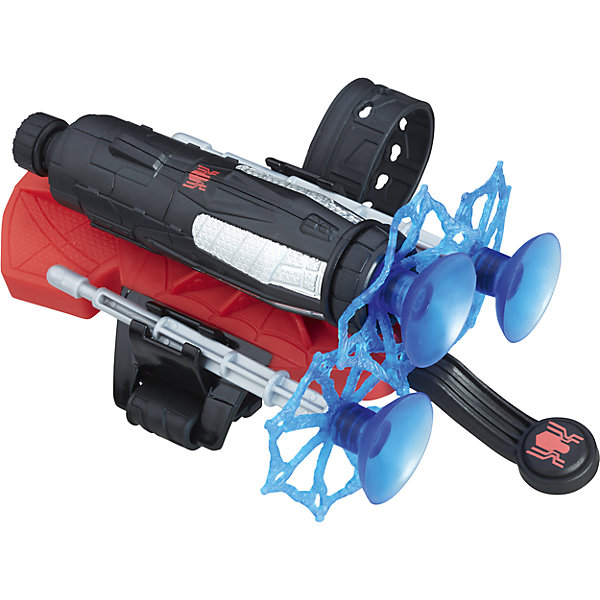 Бластер Человека-паука, Hasbro, B9766/С0423, HasbroПопулярные игрушки<br>Характеристики товара:<br><br>• возраст: от 5 лет;<br>• материал: пластик;<br>• размер упаковки: 22,9х15,2х5,7 см;<br>• вес упаковки: 180 гр.;<br>• страна производитель: Китай.<br><br>Бластер Человека-Паука Hasbro — увлекательная игрушка, созданная по мотивам нового фильма «Человек-Паук: Возвращение домой». По сюжету Питер Паркер мечтает стать частью команды Мстителей, но встречает грозного соперника Стервятника.<br><br>Бластер одевается на руку и стреляет пластиковыми снарядами в виде паутины. Снаряды выполнены из безопасного материала и не поранят ребенка.<br><br>Бластер Человека-Паука Hasbro можно приобрести в нашем интернет-магазине.<br>Ширина мм: 57; Глубина мм: 152; Высота мм: 229; Вес г: 180; Возраст от месяцев: 60; Возраст до месяцев: 2147483647; Пол: Мужской; Возраст: Детский; SKU: 6851251;