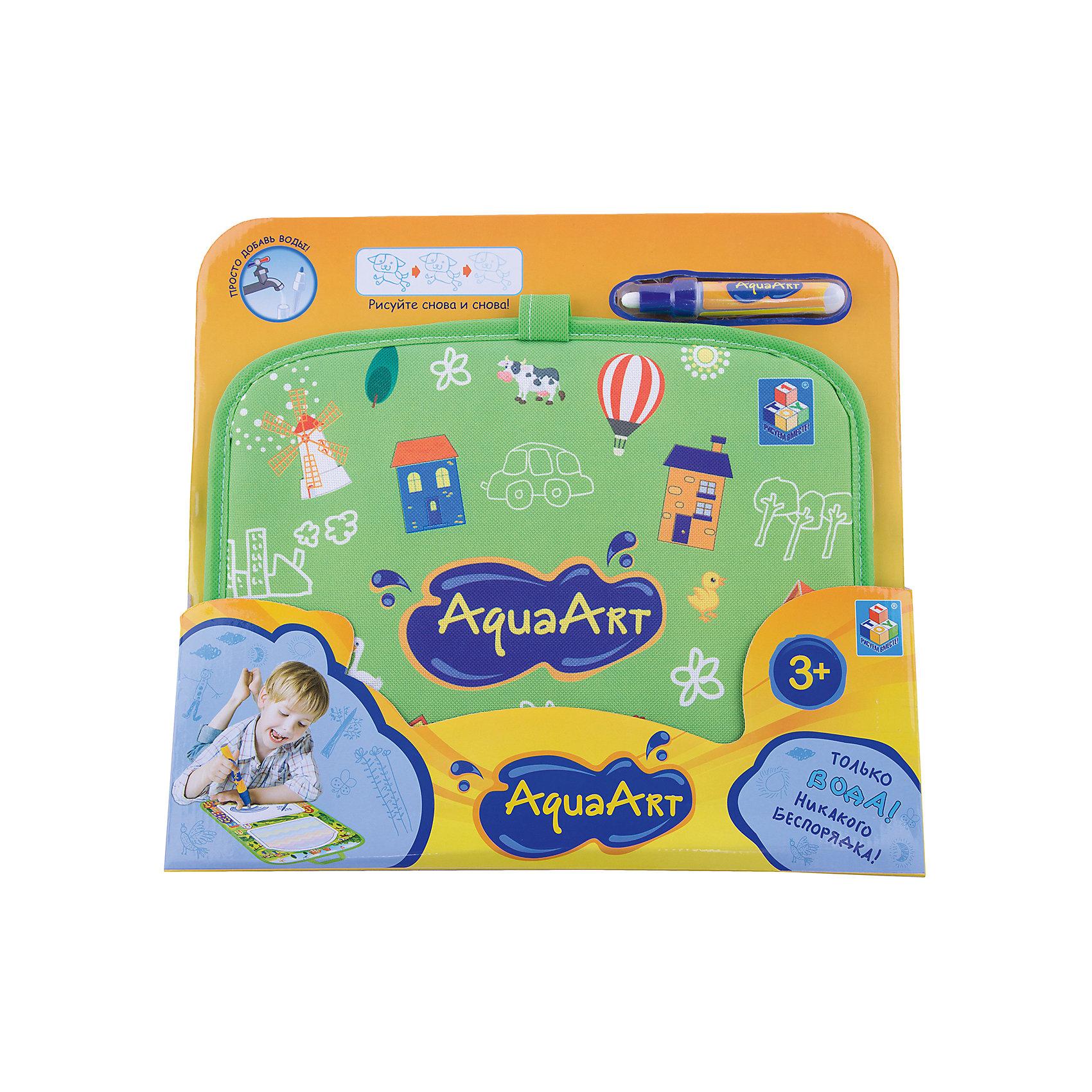 Коврик для рисования, зеленый, 1toy AquaArtРазвивающие игрушки<br><br><br>Ширина мм: 450<br>Глубина мм: 350<br>Высота мм: 330<br>Вес г: 300<br>Возраст от месяцев: 36<br>Возраст до месяцев: 2147483647<br>Пол: Унисекс<br>Возраст: Детский<br>SKU: 6851266