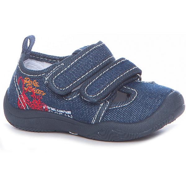 Текстильная обувь Mursu для мальчикаОбувь<br>Характеристики товара:<br><br>• цвет: синий<br>• материал верха: текстиль<br>• подклад: текстиль<br>• стелька: натуральная кожа<br>• подошва: ПВХ<br>• сезон: круглый год<br>• особенности модели: спортивный стиль<br>• застежка: резинка<br>• защита мыса<br>• анатомические <br>• страна бренда: Финляндия<br>• страна изготовитель: Китай<br><br>Текстильную обувь Mursu можно использовать как сменную в детском саду, так и для прогулок или как повседневную. Удобная форма позволяет быстро надеть и снять обувь. <br><br>Качественные материалы обеспечивают комфортные условия для ног. Универсальный цвет подходит практически под любой наряд.<br><br>Обувь Мурсу - это качественная финская продукция, которая помогает детям выглядеть модно и чувствовать себя удобно.<br><br>Текстильную обувь для мальчика Mursu можно купить в нашем интернет-магазине.<br><br>Ширина мм: 227<br>Глубина мм: 145<br>Высота мм: 124<br>Вес г: 325<br>Цвет: синий<br>Возраст от месяцев: 12<br>Возраст до месяцев: 15<br>Пол: Мужской<br>Возраст: Детский<br>Размер: 21,26,25,24,23,22<br>SKU: 6851975
