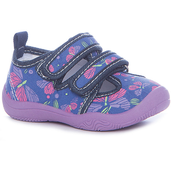 Текстильная обувь Mursu для девочкиОбувь<br>Характеристики товара:<br><br>• цвет: фиолетовый<br>• материал верха: текстиль<br>• подклад: текстиль<br>• стелька: натуральная кожа<br>• подошва: ПВХ<br>• сезон: круглый год<br>• особенности модели: спортивный стиль<br>• застежка: резинка<br>• защита мыса<br>• анатомические <br>• страна бренда: Финляндия<br>• страна изготовитель: Китай<br><br>Текстильную обувь Mursu можно использовать как сменную в детском саду, так и для прогулок или как повседневную. Удобная форма позволяет быстро надеть и снять обувь. <br><br>Качественные материалы обеспечивают комфортные условия для ног. Универсальный цвет подходит практически под любой наряд.<br><br>Обувь Мурсу - это качественная финская продукция, которая помогает детям выглядеть модно и чувствовать себя удобно.<br><br>Текстильную обувь для девочки Mursu можно купить в нашем интернет-магазине.<br><br>Ширина мм: 227<br>Глубина мм: 145<br>Высота мм: 124<br>Вес г: 325<br>Цвет: лиловый<br>Возраст от месяцев: 24<br>Возраст до месяцев: 36<br>Пол: Женский<br>Возраст: Детский<br>Размер: 26,21,22,23,24,25<br>SKU: 6852031