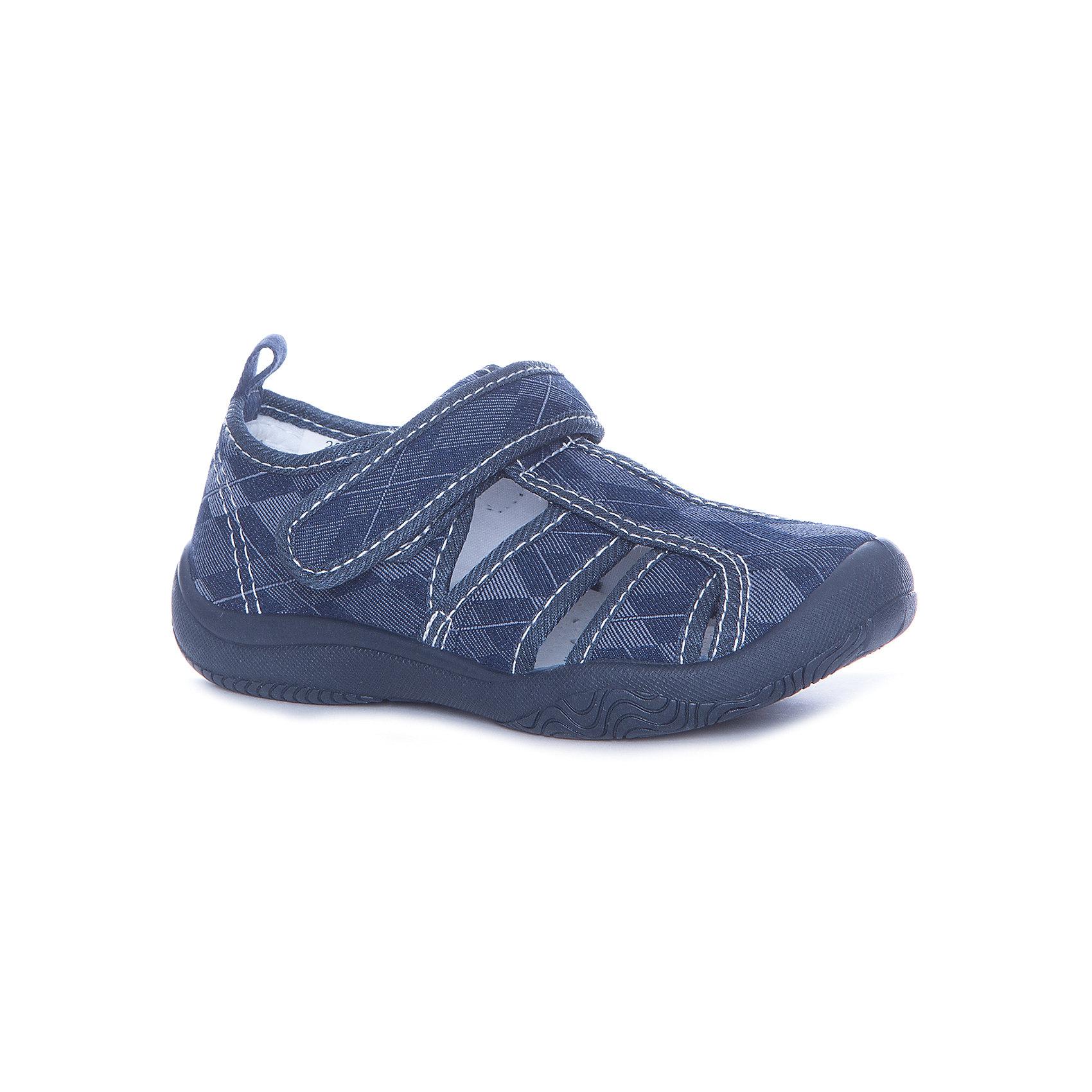 Сандалии Mursu для мальчикаТекстильные туфли<br>Характеристики товара:<br><br>• цвет: синий<br>• материал верха: текстиль<br>• подклад: текстиль<br>• стелька: натуральная кожа<br>• подошва: ПВХ<br>• сезон: круглый год<br>• особенности модели: спортивный стиль<br>• застежка: резинка<br>• защита мыса<br>• анатомические <br>• страна бренда: Финляндия<br>• страна изготовитель: Китай<br><br>Текстильную обувь Mursu можно использовать как сменную в детском саду, так и для прогулок в сухую погоду. Удобная форма позволяет быстро надеть и снять обувь. <br><br>Качественные материалы обеспечивают комфортные условия для ног. Универсальный цвет подходит практически под любой наряд.<br>Обувь Мурсу - это качественная финская продукция, которая помогает детям выглядеть модно и чувствовать себя удобно.<br><br>Текстильную обувь для мальчика Mursu можно купить в нашем интернет-магазине.<br><br>Ширина мм: 227<br>Глубина мм: 145<br>Высота мм: 124<br>Вес г: 325<br>Цвет: синий<br>Возраст от месяцев: 96<br>Возраст до месяцев: 108<br>Пол: Мужской<br>Возраст: Детский<br>Размер: 32,27,28,29,30,31<br>SKU: 6852052