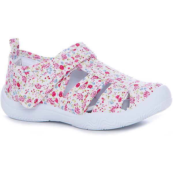 Сандалии Mursu для девочкиТекстильные туфли<br>Характеристики товара:<br><br>• цвет: розовый<br>• материал верха: текстиль<br>• подклад: текстиль<br>• стелька: натуральная кожа<br>• подошва: ПВХ<br>• сезон: круглый год<br>• особенности модели: спортивный стиль<br>• застежка: резинка<br>• защита мыса<br>• анатомические <br>• страна бренда: Финляндия<br>• страна изготовитель: Китай<br><br>Текстильную обувь Mursu можно использовать как сменную в детском саду, так и для прогулок в сухую погоду. Удобная форма позволяет быстро надеть и снять обувь. <br><br>Обувь Мурсу - это качественная финская продукция, которая помогает детям выглядеть модно и чувствовать себя удобно.<br><br>Текстильную обувь для девочки Mursu можно купить в нашем интернет-магазине.<br>Ширина мм: 227; Глубина мм: 145; Высота мм: 124; Вес г: 325; Цвет: розовый; Возраст от месяцев: 96; Возраст до месяцев: 108; Пол: Женский; Возраст: Детский; Размер: 32,29,27,28,31,30; SKU: 6852094;