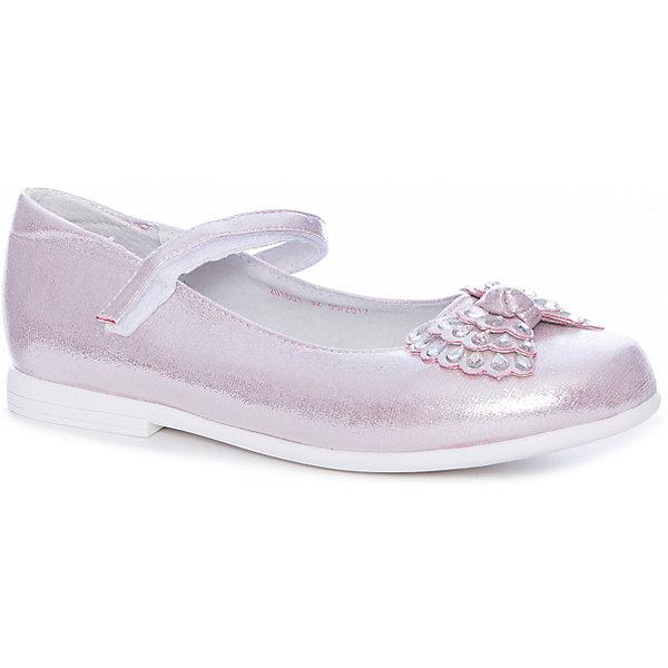 Купить Туфли Mursu для девочки, Китай, розовый, 30, 29, 28, 27, 32, 31, Женский