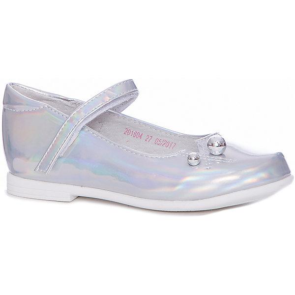Купить Туфли Mursu для девочки, Китай, серебряный, 27, 32, 30, 29, 28, 31, Женский