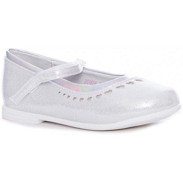 Купить Туфли Mursu для девочки, Китай, серебряный, 32, 27, 31, 30, 29, 28, Женский