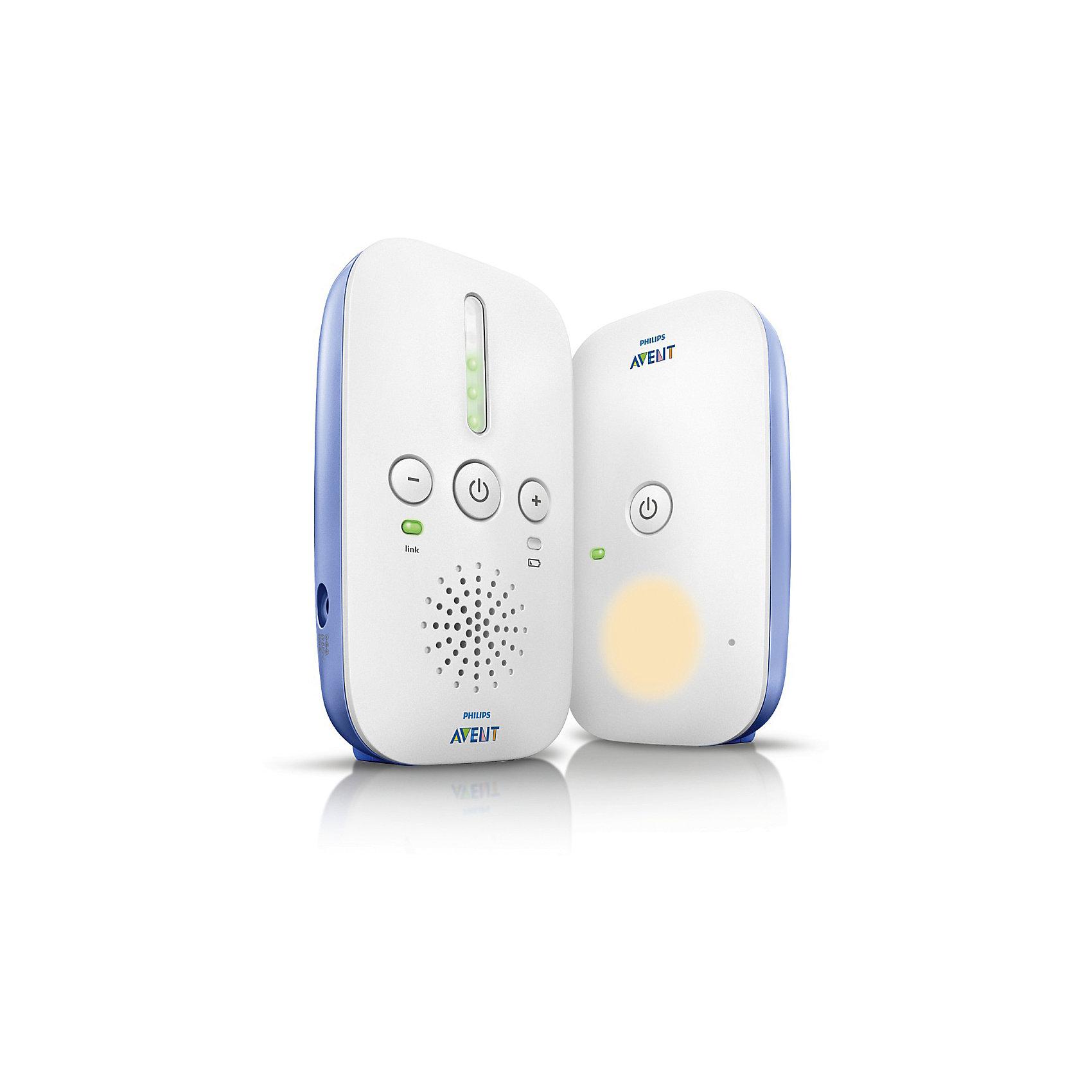 Радионяня SCD501/00, Philips AventДетская бытовая техника<br>Радионяня Philips AVENT SCD501/00 обеспечит полный комфорт и спокойствие вам и вашему малышу благодаря надежному абсолютно конфиденциальному соединению с технологией DECT и набору функций, которые помогут успокоить ребенка.          <br>                Родительский блок идеально работает при подключении к электросети. Для дополнительной свободы передвижения можно также установить элементы питания для беспроводного использования родительского блока. Можно использовать две обычных щелочных батареи R6 1,5 В типа AA или два аккумулятора R6 1,2 В типа AA. <br>           Если малыш не может успокоиться перед сном, включите ночник, и приглушенный свет поможет ребенку заснуть быстрее. <br>            Рабочий диапазон в помещении — до 50 метров, вне помещения — до 300 метров .<br><br>Ширина мм: 220<br>Глубина мм: 57<br>Высота мм: 156<br>Вес г: 435<br>Возраст от месяцев: -2147483648<br>Возраст до месяцев: 2147483647<br>Пол: Унисекс<br>Возраст: Детский<br>SKU: 6853667