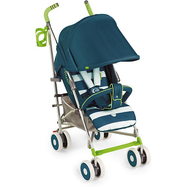 Коляска-трость Happy Baby Cindy, бирюзовыйКоляски-трости<br>Благодаря современному дизайну и продуманным функциям коляска Cindy подарит удовольствие от использования и малышу, и маме. Пятиточечные ремни безопасности с мягкими накладками надежно и комфортно зафиксируют ребёнка в коляске. Солнцезащитный козырёк опускается до съемного бампера, а спинка и подножка регулируются в трех положениях. Съемная подушка-подголовник и горизонтальный наклон спинки позволят малышу отдохнуть на свежем воздухе. Передние поворотные колеса с возможностью фиксации обеспечат прекрасную маневренность, а тормозной механизм на задних колесах надежно зафиксирует коляску. Большая вместительная корзина для необходимых аксессуаров, подстаканник и удобные ручки не оставят молодых родителей равнодушными. Благодаря компактному размеру в сложенном состоянии и удобной ручке для переноски коляску можно взять с собой в путешествие. Обивка изготовлена из дышащих материалов. Мягкая подкладка для головы и плеч создаст дополнительный уют вашему малышу. Ткань проста в уходе. Легко чистить влажной тряпочкой.<br><br>Дополнительная информация:<br><br>Размеры в разложенном виде ДхШхВ: 77х48х108 см<br>Размеры в сложенном виде ДхШхВ: 109х26,5х34 см<br>Максимальный вес ребенка: 15 кг<br>Ширина сиденья: 31 см<br>Длина спального места: 84 см<br>Глубина сиденья: 20 см + 17 см (подножка)<br>Длина спинки: 48см<br>Кол-во положений спинки: 3<br>Углы наклона спинки: 108, 128, 175<br>Передние поворотные колеса (360°)<br>Задние колеса с тормозным механизмом<br>Амортизация передних и задних колес<br>В комплекте дождевик, подстаканник, москитная сетка.<br>Тип складывания: трость<br>Вес коляски: 7,3 кг<br>Ручка с нескользящим покрытием<br>Капюшон с увеличением опускается до бампера<br>Пятиточечные ремни безопасности<br>Смотровое окошко на капюшоне<br>Вместительная корзина для покупок<br>Легко складывается<br>Диаметр колес 15 см<br>Внимание:1-фото товар в цвете по факту, остальные фото дополнительные-ракурсы модели.<br><br>Вни