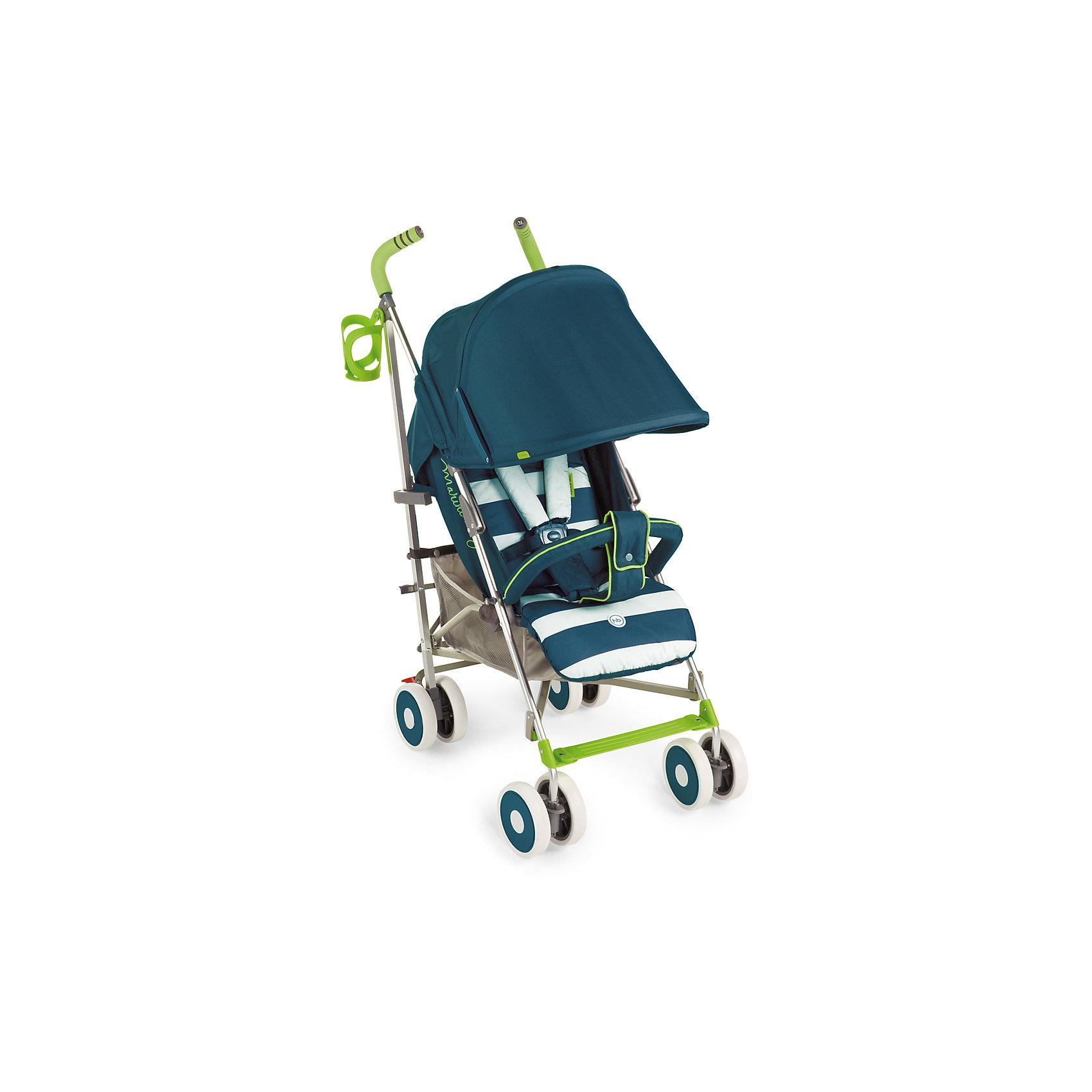 Коляска-трость Happy Baby Cindy, бирюзовыйКоляски-трости<br>Благодаря современному дизайну и продуманным функциям коляска Cindy подарит удовольствие от использования и малышу, и маме. Пятиточечные ремни безопасности с мягкими накладками надежно и комфортно зафиксируют ребёнка в коляске. Солнцезащитный козырёк опускается до съемного бампера, а спинка и подножка регулируются в трех положениях. Съемная подушка-подголовник и горизонтальный наклон спинки позволят малышу отдохнуть на свежем воздухе. Передние поворотные колеса с возможностью фиксации обеспечат прекрасную маневренность, а тормозной механизм на задних колесах надежно зафиксирует коляску. Большая вместительная корзина для необходимых аксессуаров, подстаканник и удобные ручки не оставят молодых родителей равнодушными. Благодаря компактному размеру в сложенном состоянии и удобной ручке для переноски коляску можно взять с собой в путешествие. Обивка изготовлена из дышащих материалов. Мягкая подкладка для головы и плеч создаст дополнительный уют вашему малышу. Ткань проста в уходе. Легко чистить влажной тряпочкой.<br><br>Дополнительная информация:<br><br>Размеры в разложенном виде ДхШхВ: 77х48х108 см<br>Размеры в сложенном виде ДхШхВ: 109х26,5х34 см<br>Максимальный вес ребенка: 15 кг<br>Ширина сиденья: 31 см<br>Длина спального места: 84 см<br>Глубина сиденья: 20 см + 17 см (подножка)<br>Длина спинки: 48см<br>Кол-во положений спинки: 3<br>Углы наклона спинки: 108, 128, 175<br>Передние поворотные колеса (360°)<br>Задние колеса с тормозным механизмом<br>Амортизация передних и задних колес<br>В комплекте дождевик, подстаканник, москитная сетка.<br>Тип складывания: трость<br>Вес коляски: 7,3 кг<br>Ручка с нескользящим покрытием<br>Капюшон с увеличением опускается до бампера<br>Пятиточечные ремни безопасности<br>Смотровое окошко на капюшоне<br>Вместительная корзина для покупок<br>Легко складывается<br>Диаметр колес 15 см<br><br>Коляску-трость Cindy, Happy Baby, бирюзовый можно купить в нашем магазине.<br><br>Ширина мм: