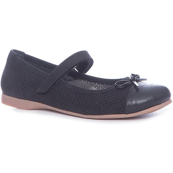 Купить Туфли для девочки Minimen, Турция, черный, 32, 31, 36, 35, 34, 33, Женский