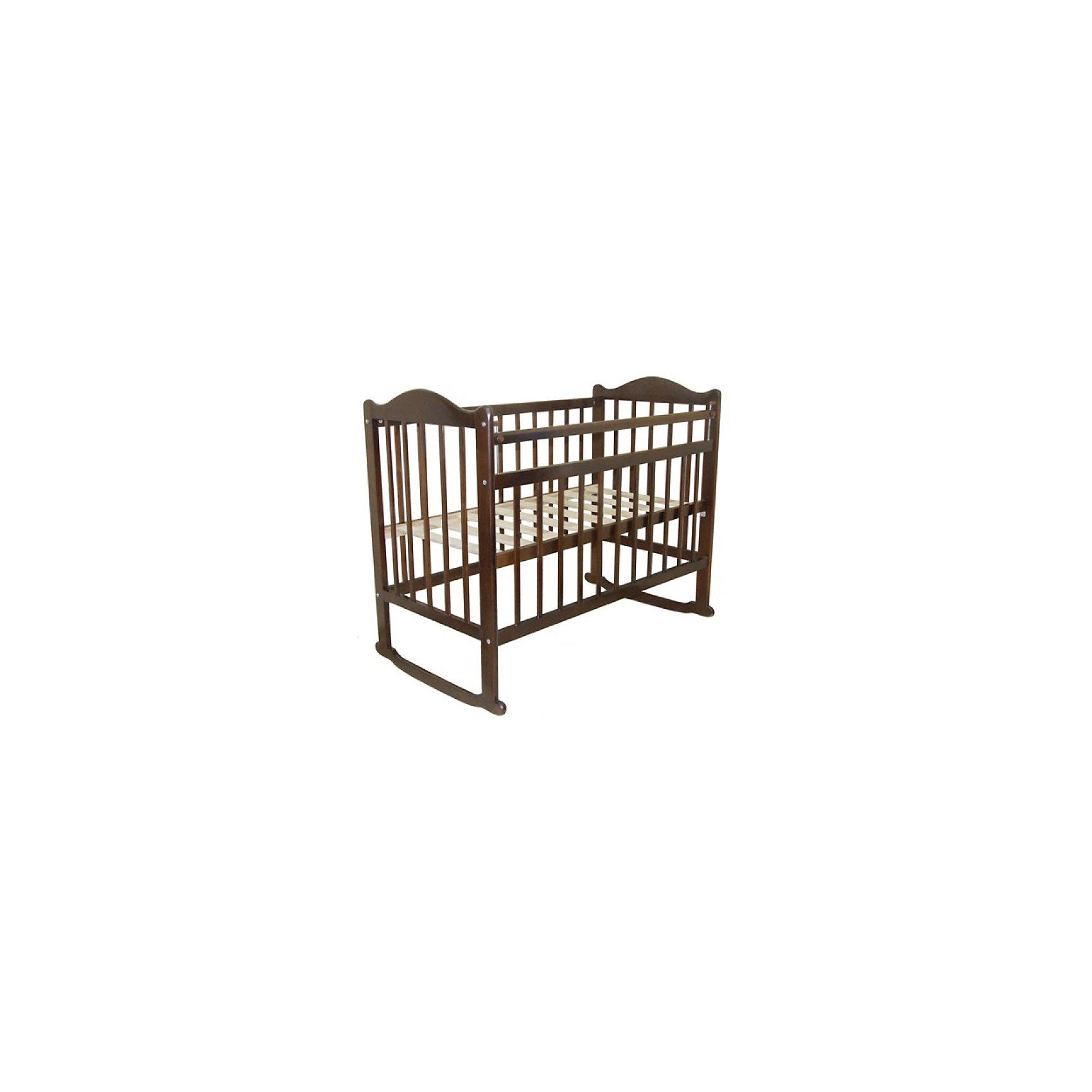 Кроватка 1, Briciola, орехКроватки<br>Удобная и простая детская кроватка Briciola-1 качалка сделана из высококачественных и экологичных материалов, в ней применены самые современные и прогрессивные технологии. Изделие обладает высоким качеством комфорта не только для детей, но и также для родителей.<br><br>Ширина мм: 1240<br>Глубина мм: 800<br>Высота мм: 170<br>Вес г: 18200<br>Возраст от месяцев: 0<br>Возраст до месяцев: 36<br>Пол: Унисекс<br>Возраст: Детский<br>SKU: 6856006