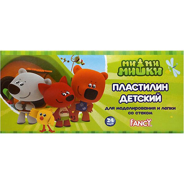 ACTION! Пластилин FANCY, 24 цвРисование и лепка<br>Характеристики товара:<br><br>• в комплекте: 24 брусочка пластилина (24 цвета);<br>• стека в комплекте;<br>• размер упаковки: 3х15х20 см;<br>• вес: 480 грамм;<br>• возраст: от 3 лет.<br><br>Пластилин FANCY содержит 24 брусочка пластилина ярких цветов и пластмассовую стеку. Цвета пластилина можно смешивать для получения новых оттенков.<br><br>Пластилин FANCY хорошо разминается и быстро принимает нужную форму. Пластилин не оставляет следов на руках и поверхности для лепки. Не содержит токсичных материалов.<br><br>ACTION! (Экшен!) Пластилин FANCY, 24 цв можно купить в нашем интернет-магазине.<br><br>Ширина мм: 200<br>Глубина мм: 150<br>Высота мм: 30<br>Вес г: 480<br>Возраст от месяцев: 36<br>Возраст до месяцев: 168<br>Пол: Унисекс<br>Возраст: Детский<br>SKU: 6858971