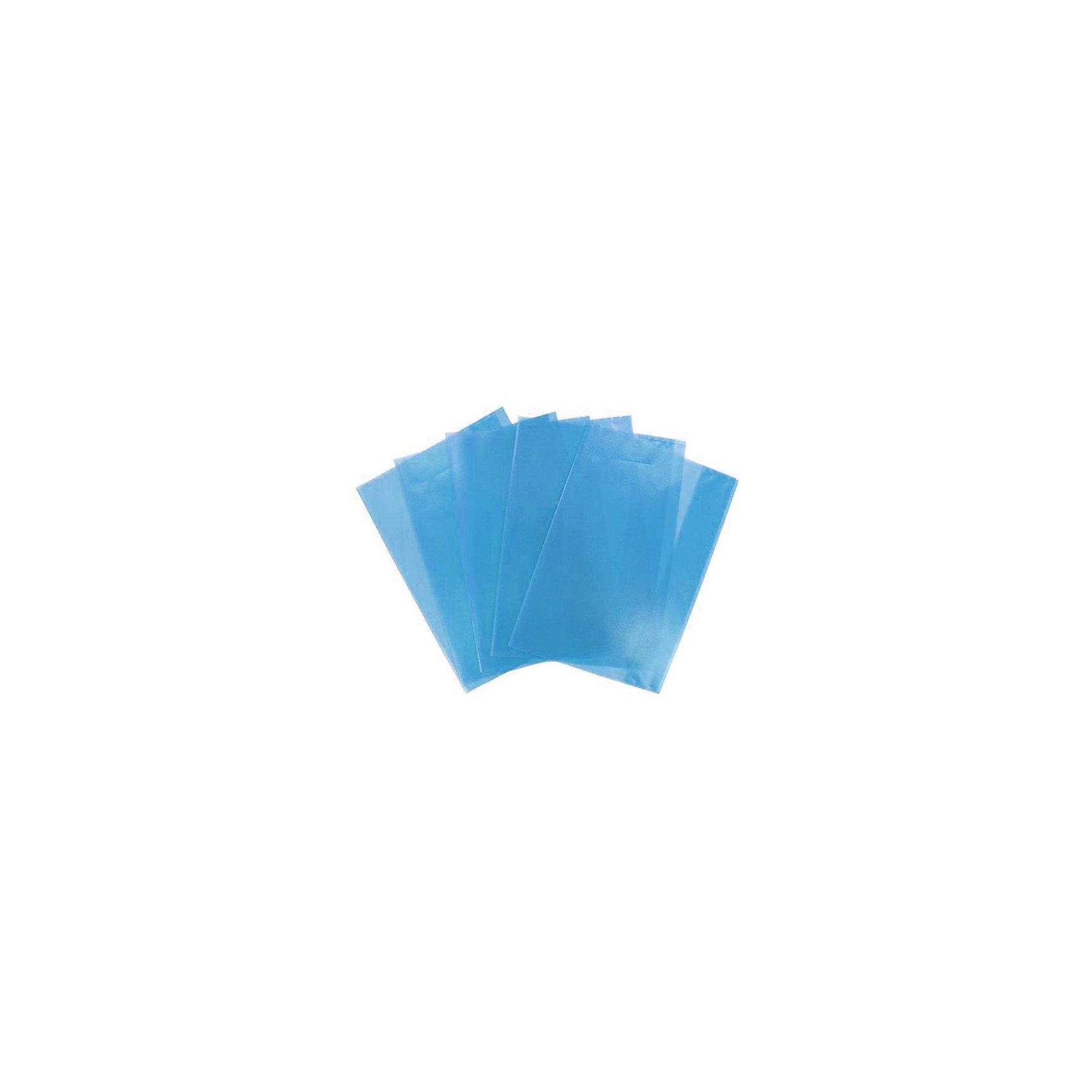 Panta Plast Набор обложек для тетрадей ф.А5, 5 шт.Школьные аксессуары<br>Характеристики товара:<br><br>• в комплекте: 5 обложек;<br>• формат: А5;<br>• поверхность: «апельсиновая корка»;<br>• размер обложки:21х34,8 см;<br>• материал: полипропилен;<br>• возраст: от 6 лет;<br>• цвет: голубой;<br>• размер упаковки: 21х34,8 см;<br>• вес: 58 грамм. <br><br>Обложки Panta Plast сохранят тетради опрятными в течение учебного года. Они защитят от загрязнений, намокания и преждевременного изнашивания. Обложки изготовлены из прочного полипропилена голубого цвета. Поверхность по типу «апельсиновая корка» всегда будет радовать глаз.<br><br>Panta Plast (Панта Пласт) Набор обложек для тетрадей ф.А5, 5 шт. можно купить в нашем интернет-магазине.<br><br>Ширина мм: 348<br>Глубина мм: 210<br>Высота мм: 10<br>Вес г: 58<br>Возраст от месяцев: 84<br>Возраст до месяцев: 156<br>Пол: Унисекс<br>Возраст: Детский<br>SKU: 6858974
