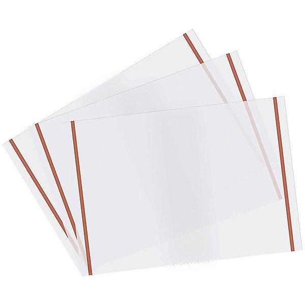 Panta Plast Набор обложек с самоклеющимися полосами, 10 шт.Школьные аксессуары<br>Характеристики товара:<br><br>• в комплекте: 10 обложек;<br>• размер обложки: 21х29,7 см;<br>• поверхность обложек: матовая;<br>• материал: полипропилен;<br>• возраст: от 6 лет;<br>• размер упаковки: 31х55 см;<br>• вес: 110 грамм.<br><br>Обложки сохранят опрятный вид тетрадей и книг, а также защитят их от загрязнений и намокания. В комплект входят 10 обложек из полипропилена с матовой поверхностью. Обложки дополнены самоклеящимися полосами.<br><br>Panta Plast (Панта Пласт) Набор обложек с самоклеящимися полосами, 10 шт. можно купить в нашем интернет-магазине.<br>Ширина мм: 550; Глубина мм: 310; Высота мм: 10; Вес г: 92; Возраст от месяцев: 84; Возраст до месяцев: 156; Пол: Унисекс; Возраст: Детский; SKU: 6858977;
