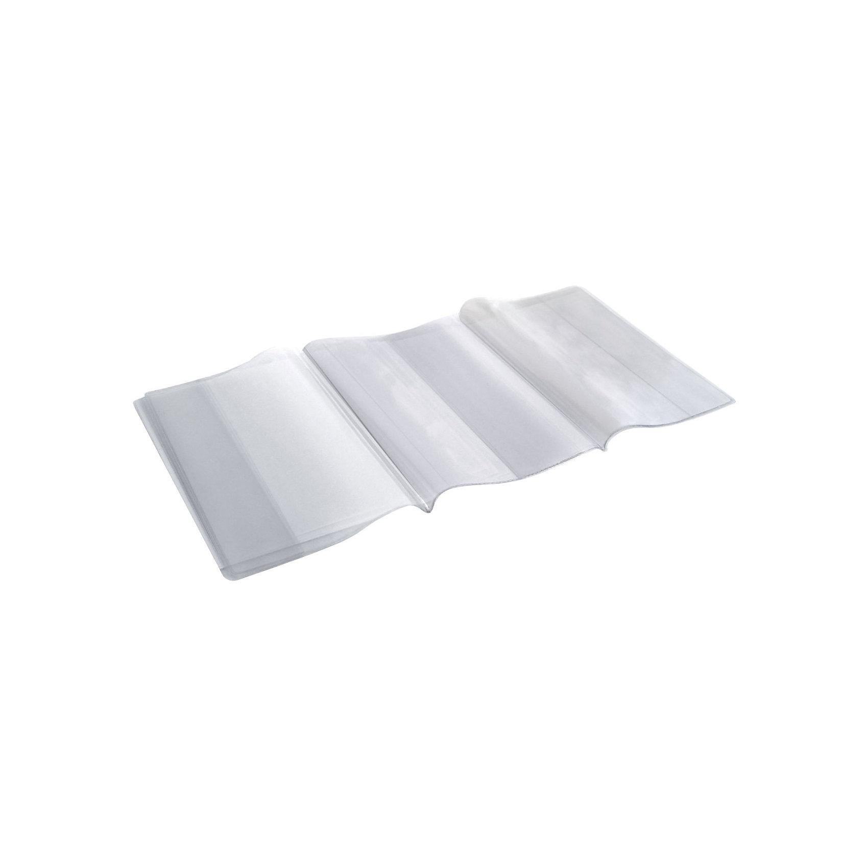 Panta Plast Набор обложек универсальных для учебников, 5 штукШкольные аксессуары<br>Характеристики товара:<br><br>• в комплекте: 5 обложек;<br>• материал: ПВХ;<br>• плотность: 150 мкм;<br>• размер упаковки: 23х46,5 см;<br>• вес: 48 грамм;<br>• возраст: от 6 лет.<br><br>Обложки Panta Plast защитят учебники от изнашивания и загрязнения, сохраняя опрятный внешний вид на весь учебный год.  В комплект входят 5 прозрачных обложек плотностью 150 мкм. Обложки подходят к учебникам любой толщины.<br><br>Panta Plast (Панта Пласт) Набор обложек универсальных для учебников, 5 штук можно купить в нашем интернет-магазине.<br><br>Ширина мм: 465<br>Глубина мм: 230<br>Высота мм: 9999<br>Вес г: 48<br>Возраст от месяцев: 84<br>Возраст до месяцев: 156<br>Пол: Унисекс<br>Возраст: Детский<br>SKU: 6858979