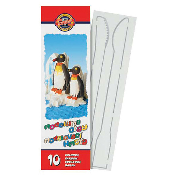 KOH-I-NOOR Пластилин 10 цветовРисование и лепка<br>Характеристики товара:<br><br>• в комплекте: 10 брусочков пластилина,2 стека;<br>• размер брусочка: 4,5х1,5х1,7 см;<br>• возраст: от 3-х лет;<br>• материал: пластилин, пластик;<br>• размер упаковки: 7х15х2 см;<br>• вес: 200 грамм.<br><br>Пластилин KOH-I-NOOR прекрасно подойдет для творчества и поделок. В комплект входят 10 брусочков и 2 стека разной длины. Брусочки можно смешивать, чтобы получить новые цвета. Пластилин не липнет к рукам, легко обретает нужную форму и не вызывает аллергических реакций.<br><br>KOH-I-NOOR (Кохинор) Пластилин 10 цветов можно купить в нашем интернет-магазине.<br><br>Ширина мм: 150<br>Глубина мм: 70<br>Высота мм: 20<br>Вес г: 200<br>Возраст от месяцев: 36<br>Возраст до месяцев: 168<br>Пол: Унисекс<br>Возраст: Детский<br>SKU: 6858982