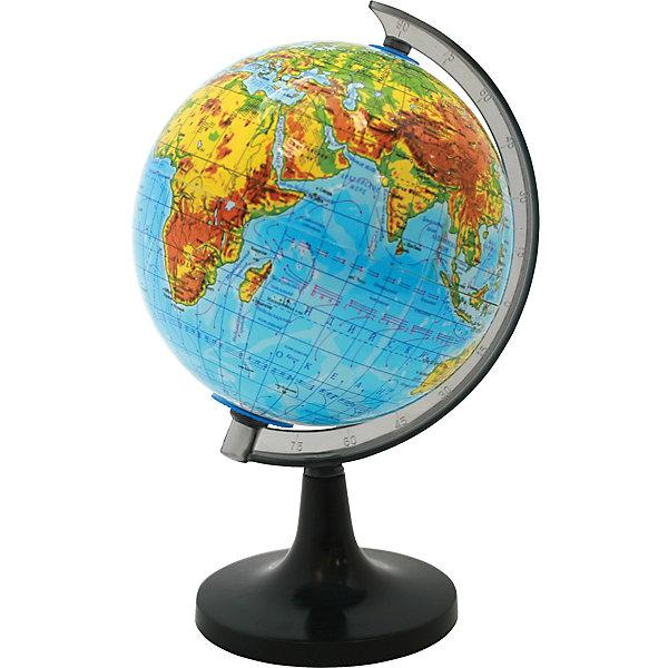 ROTONDO Глобус физический, 20смГлобусы<br>Характеристики товара:<br><br>• тип карты: физическая;<br>• диаметр глобуса: 20 см;<br>• масштаб: 1: 63000000;<br>• материал: пластик;<br>• размер упаковки: 20х20х20 см;<br>• вес: 500 грамм;<br>• возраст: от 3 лет.<br><br>Глобус от Rotondo познакомит ребенка с физическая картой мира. Глобус оформлен ярким и четким изображением. С помощью пластиковой ручки ребенок сможет удобно вращать глобус, чтобы рассмотреть все необходимые элементы.<br><br>На глобусе нанесены линии картографической сетки, рельеф суши и водного пространства, теплые и холодные течения, крупные населенные пункты, гидрографическая сеть и элементы почвенно-растительного покрова.<br><br>ROTONDO (Ротондо) Глобус физический, 20см можно купить в нашем интернет-магазине.<br>Ширина мм: 200; Глубина мм: 200; Высота мм: 200; Вес г: 500; Возраст от месяцев: 36; Возраст до месяцев: 168; Пол: Унисекс; Возраст: Детский; SKU: 6859025;