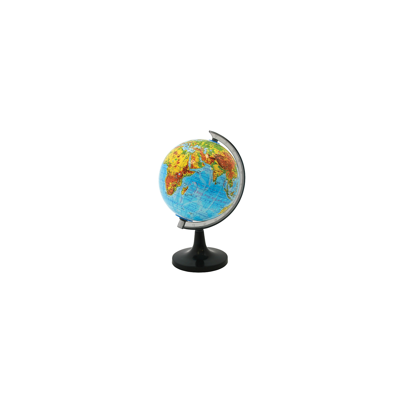 ROTONDO Глобус физический, 20смГлобусы<br>Характеристики товара:<br><br>• тип карты: физическая;<br>• диаметр глобуса: 20 см;<br>• масштаб: 1: 63000000;<br>• материал: пластик;<br>• размер упаковки: 20х20х20 см;<br>• вес: 500 грамм;<br>• возраст: от 3 лет.<br><br>Глобус от Rotondo познакомит ребенка с физическая картой мира. Глобус оформлен ярким и четким изображением. С помощью пластиковой ручки ребенок сможет удобно вращать глобус, чтобы рассмотреть все необходимые элементы.<br><br>На глобусе нанесены линии картографической сетки, рельеф суши и водного пространства, теплые и холодные течения, крупные населенные пункты, гидрографическая сеть и элементы почвенно-растительного покрова.<br><br>ROTONDO (Ротондо) Глобус физический, 20см можно купить в нашем интернет-магазине.<br><br>Ширина мм: 200<br>Глубина мм: 200<br>Высота мм: 200<br>Вес г: 500<br>Возраст от месяцев: 36<br>Возраст до месяцев: 168<br>Пол: Унисекс<br>Возраст: Детский<br>SKU: 6859025