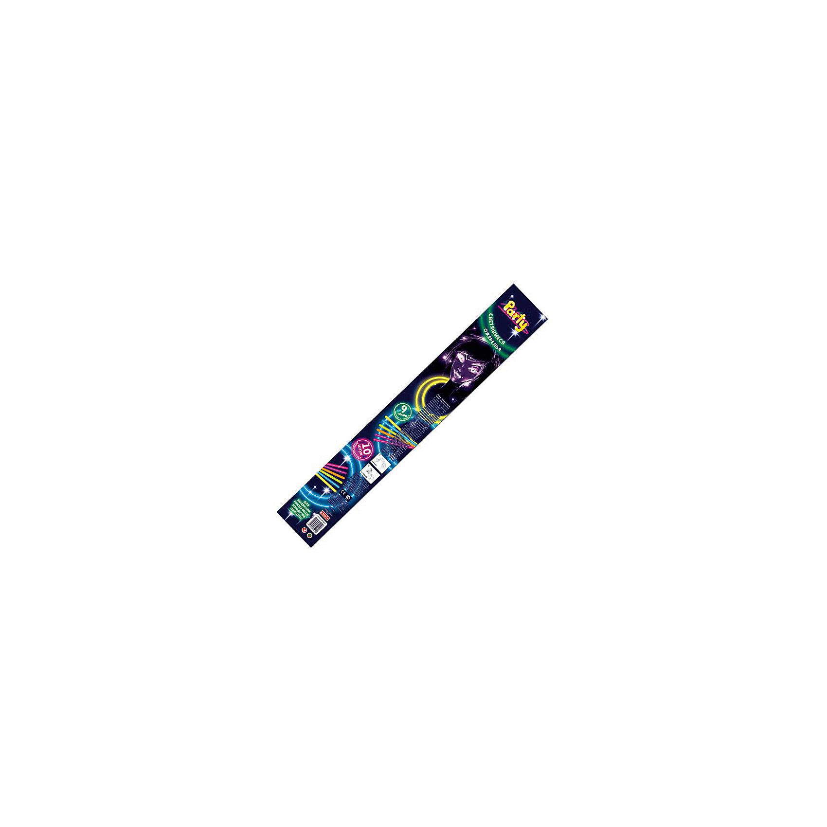 Набор разноцветных светящихся ожерелий, 5шт, 56 смВсё для праздника<br>Характеристики:<br><br>• возраст: от 3 лет<br>• количество: 5 шт.<br>• длина: 56 см.<br>• время свечения: 9 часов<br>• упаковка: картонная туба<br><br>Набор разноцветных светящихся ожерелий создан специально для вечеринок, праздников, концертов, дискотек.<br><br>Ожерелья светят ярким неоновым светом. Для активации изделия необходимо несколько раз его согнуть и встряхнуть. Через пару минут произойдет полная реакция, и аксессуар начнет ярко светиться. Изделие нетоксично.<br><br>Набор разноцветных светящихся ожерелий, 5шт, 56 см можно купить в нашем интернет-магазине.<br><br>Ширина мм: 300<br>Глубина мм: 120<br>Высота мм: 20<br>Вес г: 100<br>Возраст от месяцев: 36<br>Возраст до месяцев: 2147483647<br>Пол: Унисекс<br>Возраст: Детский<br>SKU: 6860589