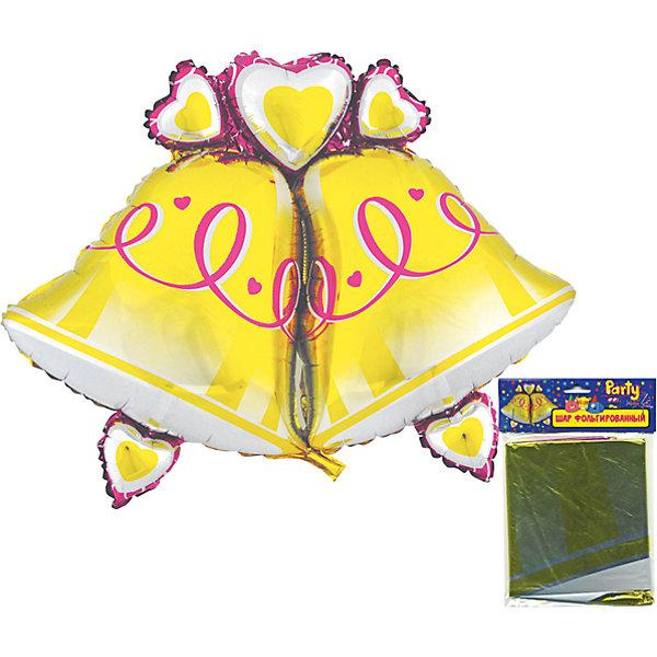 Шар фольгированный Колокольчики, 108*81смВоздушные шары<br>Характеристики:<br><br>• возраст: от 3 лет<br>• размер: 108х81 см.<br>• материал: фольга<br><br>Надувной фольгированный шар в форме двух колокольчиков станет замечательным украшением праздника и веселой игрушкой для малыша.<br><br>Шар изготовлен с использованием специальных синтетических волокон, благодаря которым изделие долгое время сохраняет первоначальный вид. Шар можно сдувать и надувать несколько раз.<br><br>Шар фольгированный Колокольчики, 108*81см можно купить в нашем интернет-магазине.<br><br>Ширина мм: 200<br>Глубина мм: 200<br>Высота мм: 10<br>Вес г: 54<br>Возраст от месяцев: 36<br>Возраст до месяцев: 2147483647<br>Пол: Унисекс<br>Возраст: Детский<br>SKU: 6860592