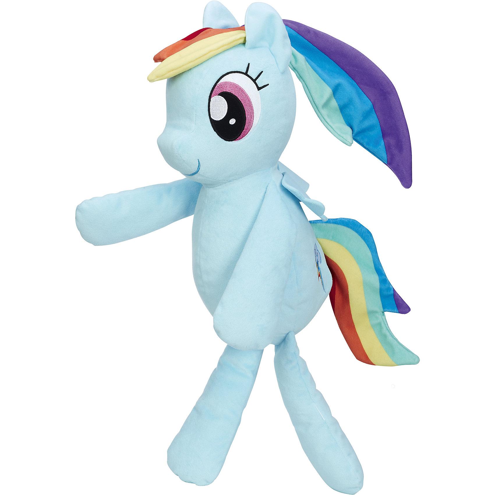 Плюшевые пони для обнимашек, B9822/C0122, My little Pony, HasbroЛюбимые герои<br><br><br>Ширина мм: 203<br>Глубина мм: 152<br>Высота мм: 305<br>Вес г: 289<br>Возраст от месяцев: 36<br>Возраст до месяцев: 2147483647<br>Пол: Женский<br>Возраст: Детский<br>SKU: 6861724