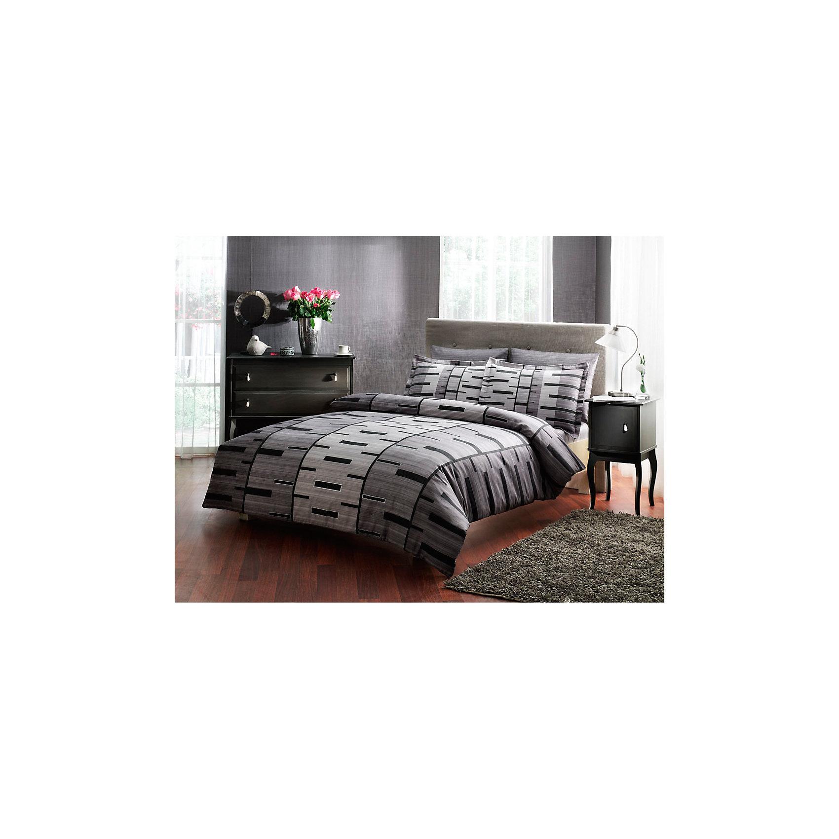 Постельное белье семейный Bronx, сатин, TAC, серыйДомашний текстиль<br>Характеристики товара: <br><br>• комплектация: пододеяльник - 2шт. (160х220см), наволочка - 2шт. (50х70см), простынь (240х260см);<br>• общий размер: семейный;<br>• материал: хлопковый сатин (100% хлопок);<br>• цвет: серый;<br>• страна бренда: Турция;<br>• страна производитель: Турция.<br><br>Это постельное бельё от турецкого бренда TAC (ТАЧ) отлично впишется в интерьер. Несмотря на плотность ткани, она состоит из мельчайших волокон, что придаёт мягкость и воздушность изделию. Все материалы, которые входят в состав этого комплекта, гипоаллергенны и не вызывают неприятных ощущений. <br><br>Благодаря сильно скрученным нитям в плотной ткани материал становится гладким и немного блестящим. Такие материалы не электризуются, а наоборот способствуют улучшению сна и хорошо пропускают воздух. <br><br>Такой комплект можно смело стирать, сатин хорошо сохраняет яркость красок, даже после частых стирок рисунок не выцветает и не покрывается катышками. Рекомендуется стирать обычным порошком. <br><br>Постельное белье Bronx (Бронкс) можно купить в нашем интернет-магазине.<br><br>Ширина мм: 270<br>Глубина мм: 80<br>Высота мм: 370<br>Вес г: 3500<br>Возраст от месяцев: 216<br>Возраст до месяцев: 1188<br>Пол: Унисекс<br>Возраст: Детский<br>SKU: 6861928