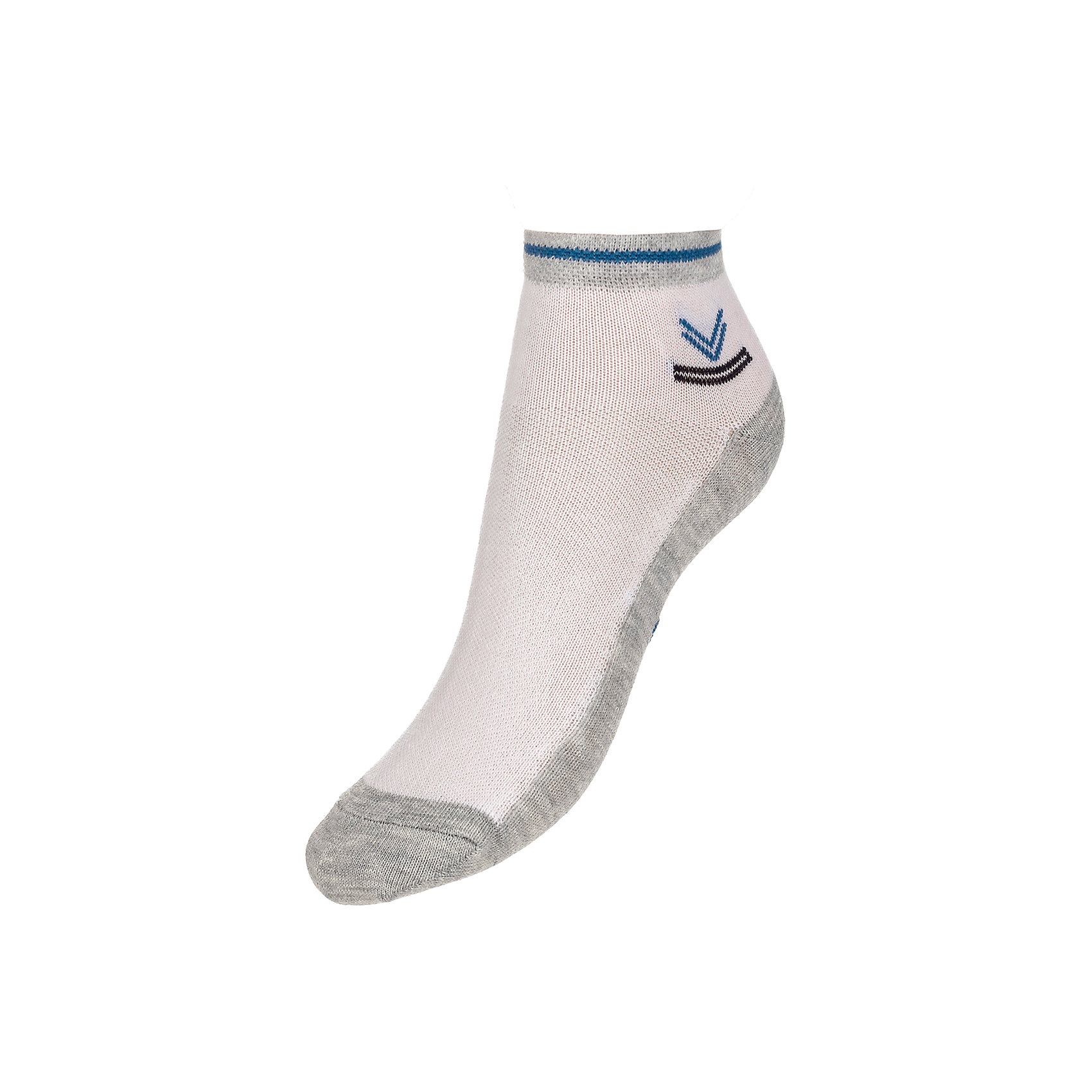 Носки ( 2 пары) BaykarНоски<br>Характеристики товара:<br><br>• цвет: серый<br>• состав ткани: 75% хлопок; 22% полиамид; 3% эластан<br>• комплектация: 2 пары<br>• сезон: круглый год<br>• страна бренда: Турция<br>• страна изготовитель: Турция<br><br>Такой набор носков от турецкого бренда Baykar создан специально для детей. Мягкие хлопковые носки дают коже дышать, хорошо впитывают влагу. <br><br>Мягкая резинка не давит на ногу. Качественные носки - залог комфорта ребенка. <br><br>Носки (2 пары) Baykar (Байкар) можно купить в нашем интернет-магазине.<br><br>Ширина мм: 87<br>Глубина мм: 10<br>Высота мм: 105<br>Вес г: 115<br>Цвет: серый<br>Возраст от месяцев: 132<br>Возраст до месяцев: 1188<br>Пол: Унисекс<br>Возраст: Детский<br>Размер: 22-24,18-20,20-22<br>SKU: 6863874