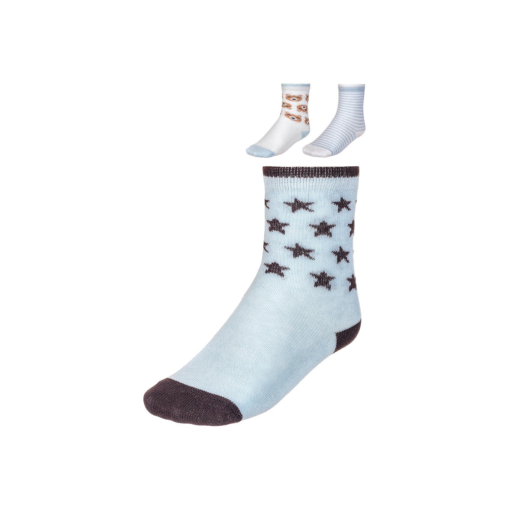 Носки ( 3 пары) BaykarНоски<br>Характеристики товара:<br><br>• цвет: синий<br>• состав ткани: 75% хлопок; 22% полиамид; 3% эластан<br>• комплектация: 3 пары<br>• сезон: круглый год<br>• страна бренда: Турция<br>• страна изготовитель: Турция<br><br>Качественные носки - залог комфорта ребенка. Этот набор носков от турецкого бренда Baykar позволит обеспечить ногам ребенка удобство.<br><br>Хлопковые носки дают коже дышать, хорошо впитывают влагу. Мягкая резинка не давит на ногу.<br><br>Носки (3 пары) Baykar (Байкар) можно купить в нашем интернет-магазине.<br><br>Ширина мм: 87<br>Глубина мм: 10<br>Высота мм: 105<br>Вес г: 115<br>Цвет: синий<br>Возраст от месяцев: 18<br>Возраст до месяцев: 24<br>Пол: Унисекс<br>Возраст: Детский<br>Размер: 15/16,10-12,10-14<br>SKU: 6863882