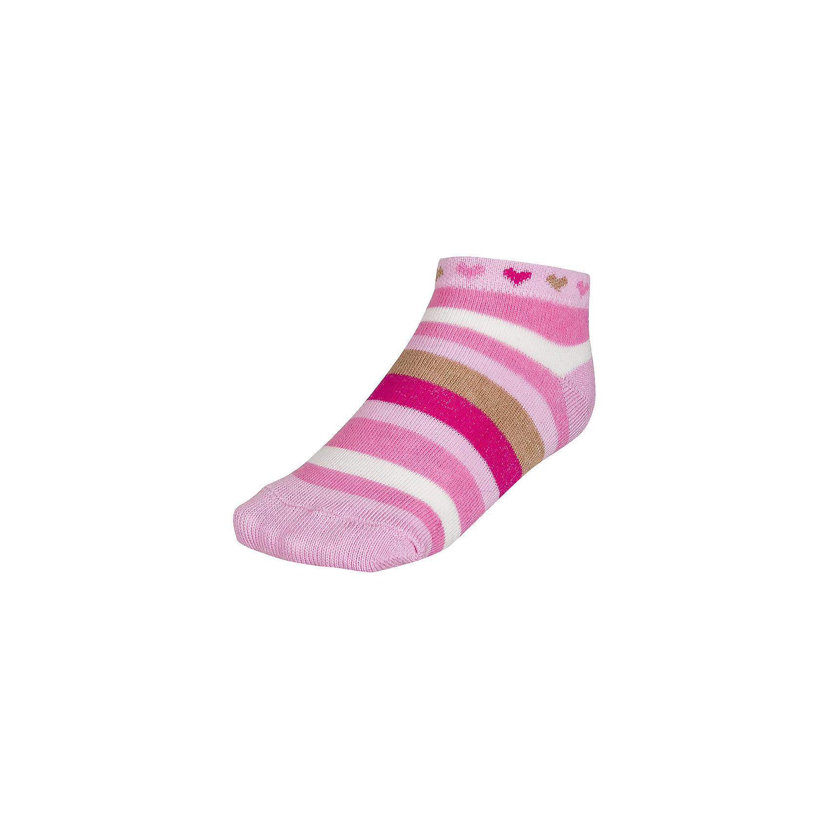Носки ( 3 пары) для девочки BaykarНоски<br>Характеристики товара:<br><br>• цвет: розовый<br>• состав ткани: 75% хлопок; 22% полиамид; 3% эластан<br>• комплектация: 3 пары<br>• сезон: круглый год<br>• страна бренда: Турция<br>• страна изготовитель: Турция<br><br>Качественные носки для ребенка должны быть мягкими и дышащими. Этот набор носков для девочки от турецкого бренда Baykar позволит обеспечить ногам детей удобство.<br><br>Хлопковые носки хорошо впитывают влагу, не натирают. Мягкая резинка не давит на ногу.<br><br>Носки для девочки (3 пары) Baykar (Байкар) можно купить в нашем интернет-магазине.<br><br>Ширина мм: 87<br>Глубина мм: 10<br>Высота мм: 105<br>Вес г: 115<br>Цвет: розовый<br>Возраст от месяцев: 6<br>Возраст до месяцев: 12<br>Пол: Женский<br>Возраст: Детский<br>Размер: 10-12,16-18,15/16<br>SKU: 6863903
