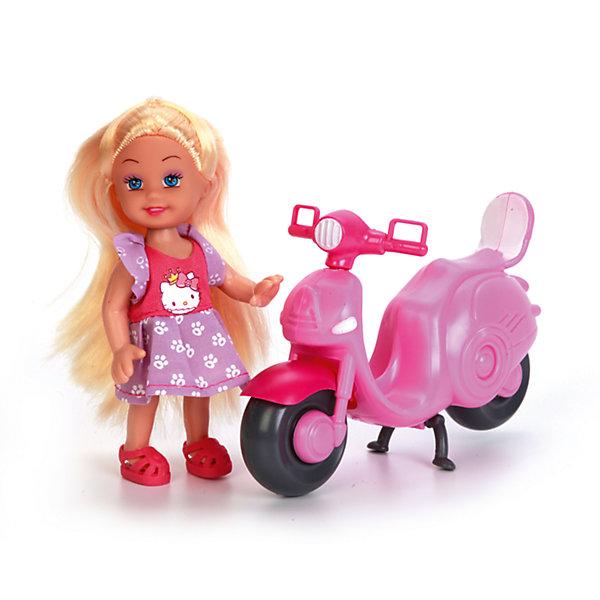 Кукла Машенька, 12 см, твердое тело, КарапузКуклы<br>Характеристики товара:<br><br>• возраст: от 3 лет;<br>• материал: пластик;<br>• в комплекте: кукла, скутер, шлем;<br>• высота куклы: 15 см;<br>• размер упаковки: 16х16х5 см;<br>• вес упаковки: 190 гр.;<br>• страна производитель: Китай.<br><br>Кукла «Машенька» Карапуз - очаровательная девочка в розовом платье, с длинными светлыми волосами, которые можно расчесывать и заплетать. Машенька любит кататься на своем скутере. Благодаря подвижным ручкам и ножкам кукла принимает различные позы.<br><br>Куклу «Машенька» Карапуз можно приобрести в нашем интернет-магазине.<br>Ширина мм: 71; Глубина мм: 61; Высота мм: 35; Вес г: 190; Возраст от месяцев: 36; Возраст до месяцев: 60; Пол: Женский; Возраст: Детский; SKU: 6863977;