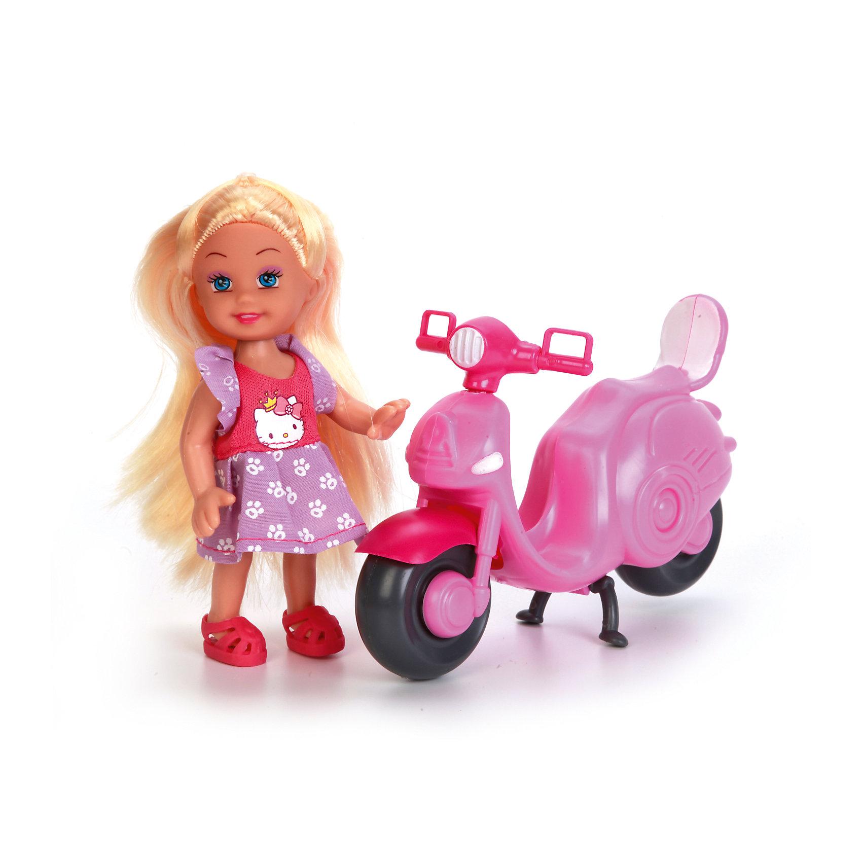 Кукла Машенька, 12 см, твердое тело, КарапузИнтерактивные куклы<br>Кукла очень похожа на маленького младенца с пухлыми щёчками и аккуратными чертами милого личика. Маленькая модница в стильной одежде, представленной платьем с изображением котёнка на груди, очарует каждую девочку. У игрушки подвижные ручки, ножки и голова, что позволяет менять кукле наряды и принимать ей различные игровые позы. Несмотря на компактный размер, куколка прекрасно детализирована. В комплекте входят шлем и скутер, с которыми игра станет ещё разнообразнее и интереснее.<br><br>Ширина мм: 71<br>Глубина мм: 61<br>Высота мм: 35<br>Вес г: 190<br>Возраст от месяцев: 36<br>Возраст до месяцев: 60<br>Пол: Женский<br>Возраст: Детский<br>SKU: 6863977