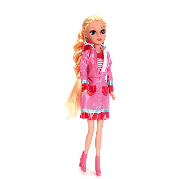Кукла Мария 29 см Яркая осень, с аксессуарами, КарапузКуклы<br>Характеристики товара:<br><br>• возраст: от 3 лет;<br>• материал: пластик, текстиль;<br>• в комплекте: кукла, аксессуары;<br>• высота куклы: 29 см;<br>• размер упаковки: 32х14х6 см;<br>• вес упаковки: 380 гр.;<br>• страна производитель: Китай.<br><br>Кукла Мария «Яркая осень» Карапуз одета в стильный осенний наряд. На ней розовый плащ, сапожки и полосатое платье. У куклы мягкие волосы, которые можно расчесывать, украшать и заплетать. Благодаря подвижным ручкам и ножкам кукла принимает различные позы.<br><br>Куклу Марию «Яркая осень» Карапуз можно приобрести в нашем интернет-магазине.<br><br>Ширина мм: 39<br>Глубина мм: 70<br>Высота мм: 47<br>Вес г: 380<br>Возраст от месяцев: 36<br>Возраст до месяцев: 60<br>Пол: Женский<br>Возраст: Детский<br>SKU: 6863986