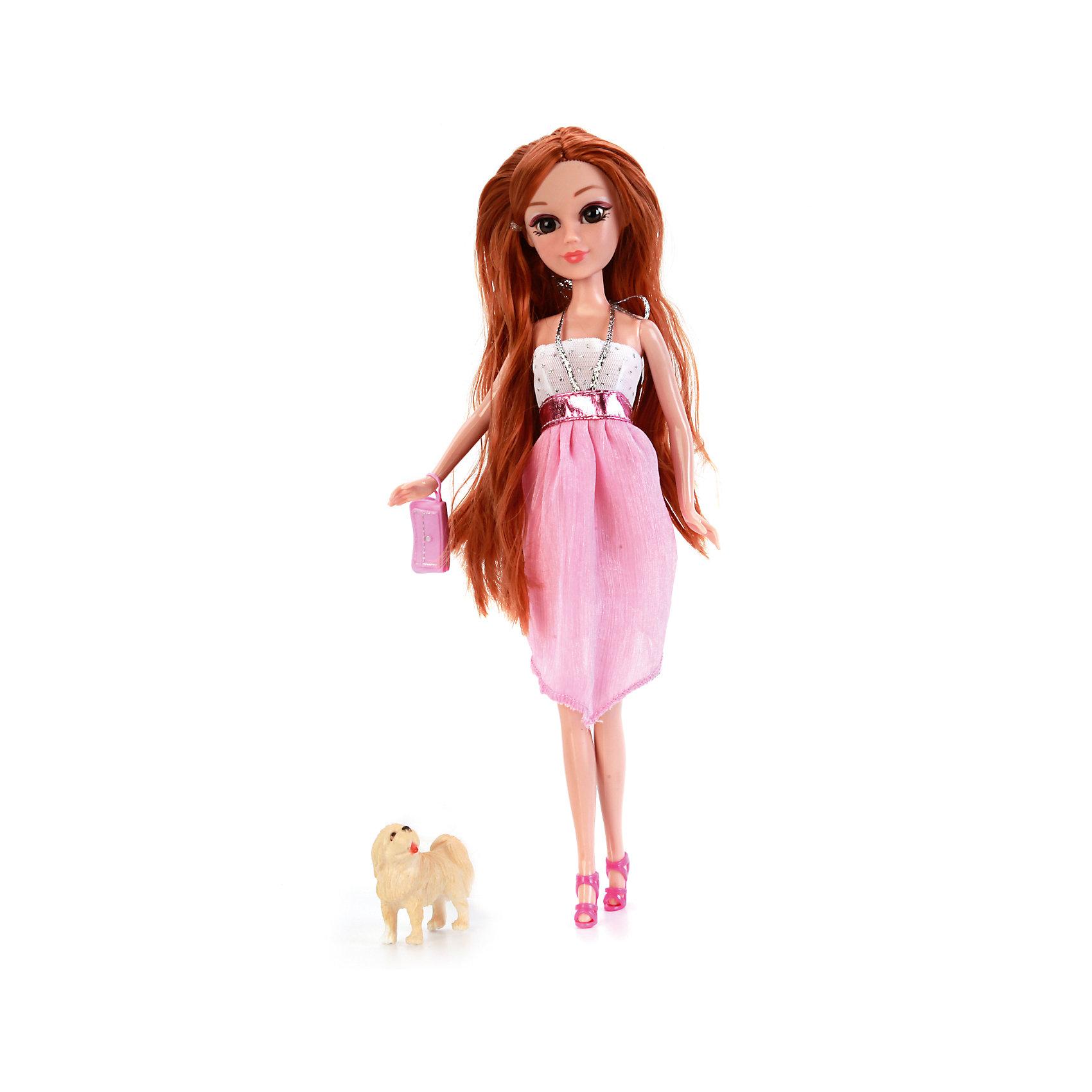 Кукла Мария 29 см, с гламурной собачкой и аксессуарами, КарапузИнтерактивные куклы<br>Набор кукла Мария с питомцем приведет в восторг любую девочку. Мария обожает ухаживать за своим питомцем, ласкать и играть с этими чудесным созданиям. В наборе есть все необходимое для ухода за питомцем. Когда Мария отправляется на прогулку со своим гламурным питомцем, она сразу приковывает к себе взгляды. У куклы подвижные руки и ноги, голова. У Марии реалистичные пластиковые глаза и густые ресницы, которые делают ее взгляд особенно выразительным. Красивые волосы можно причесывать и делать ей различные прически.<br><br>Ширина мм: 38<br>Глубина мм: 70<br>Высота мм: 45<br>Вес г: 370<br>Возраст от месяцев: 36<br>Возраст до месяцев: 60<br>Пол: Женский<br>Возраст: Детский<br>SKU: 6863988