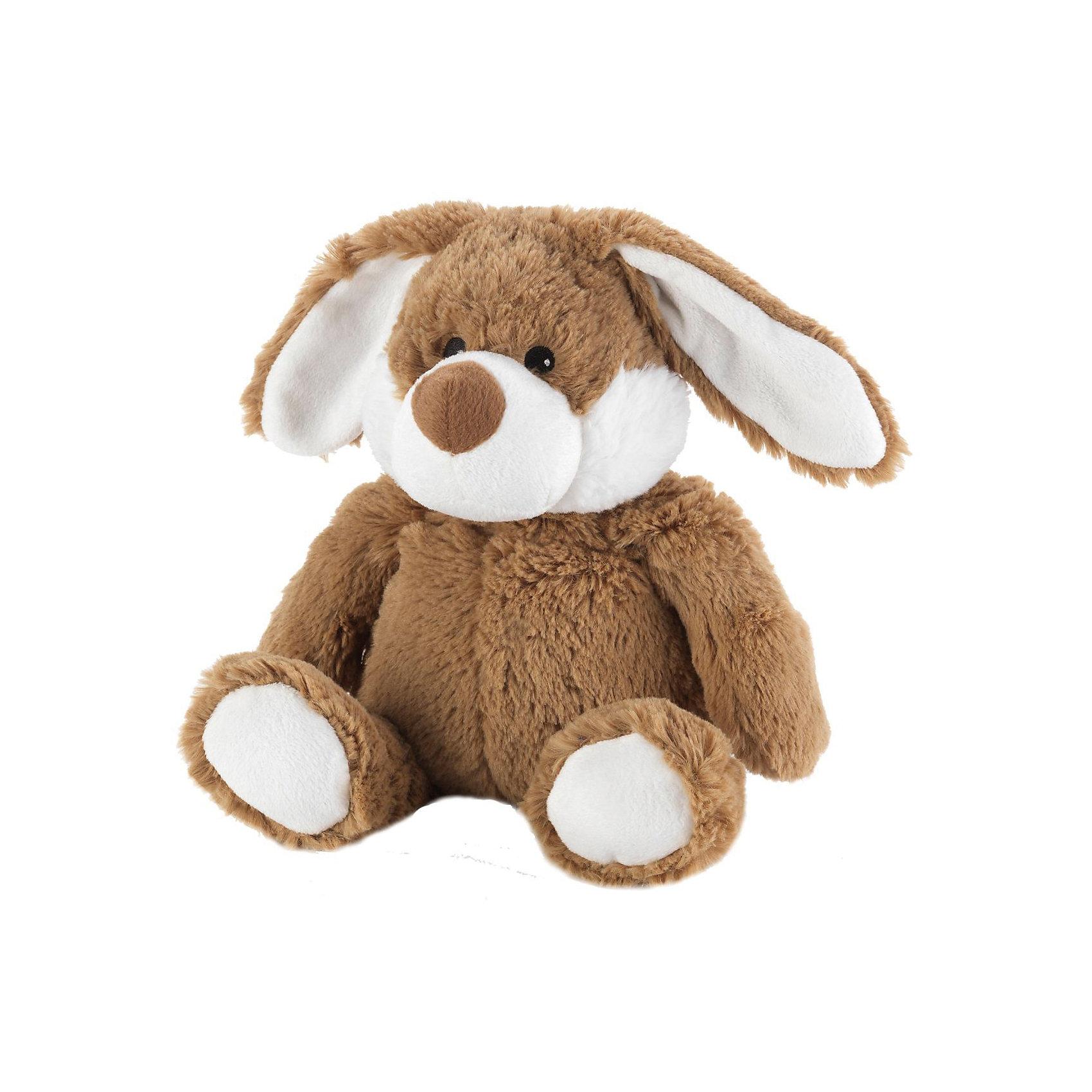 Игрушка-грелка Коричневый Кролик Cozy Plush, WarmiesМягкие игрушки<br>Характеристики товара:<br><br>• возраст: от 3 лет<br>• размер: 25 см.<br>• материал верха: плюш (100% полиэстер)<br>• наполнитель: 6% полифилл, 93% обработанные зерна проса, 1% сушеная лаванда<br>• время нагрева: 2 минуты при мощности микроволновки 600-800 W, 90 секунд при мощности 850-1000 W<br>• уход: не стирать, регулярно протирать влажной губкой<br>• размер упаковки: 30х17х10 см.<br>• вес: 830 гр.<br><br>Игрушечный коричневый кролик приятен на ощупь, у него симпатичная мордочка, длинные ушки и пухленький животик. Кролик подарит малышу успокаивающее тепло. Теплая игрушка пригодится в холодные ночи, когда болит живот или просто, когда хочется прижаться к теплой мягкой любимой игрушке.<br><br>Положите игрушку на 1-2 минуты в микроволновую печь, и она будет согревать малыша на протяжении 3-4 часов. Наполнитель игрушки-грелки: высококачественный полифилл; зерна проса; сушеные цветы лаванды. Зерна проса прошли термическую обработку, поэтому не повреждаются во время нагревания в микроволновой печи. <br><br>Просо удерживает тепло долгое время, а лаванда обладает успокаивающим, расслабляющим эффектом, помогает заснуть. Волшебный аромат лаванды помогает при простудных заболеваниях. Чтобы обновить аромат можно добавить несколько капель масла лаванды. <br><br>Игрушку можно разогревать в микроволновой печи неограниченное число раз. Также ее можно использовать как холодный компресс, на некоторое время, поместив ее в морозильную камеру.<br><br>Игрушка изготовлена из безопасных материалов. Товар сертифицирован.<br><br>Игрушку-грелку Коричневый Кролик Cozy Plush, Warmies (Вармис) можно купить в нашем интернет-магазине.<br><br>Ширина мм: 300<br>Глубина мм: 170<br>Высота мм: 100<br>Вес г: 830<br>Возраст от месяцев: -2147483648<br>Возраст до месяцев: 2147483647<br>Пол: Унисекс<br>Возраст: Детский<br>SKU: 6865907
