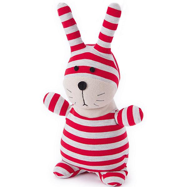 Игрушка-грелка Кролик Банти Socky Dolls, WarmiesГрелки<br>Характеристики товара:<br><br>• возраст: от 3 лет<br>• размер: 20 см.<br>• материал верха: текстиль (95% хлопковая пряжа, 3% хлопок, 2% полиэстер)<br>• наполнитель: 4,9% полифилл 94,3% обработанные зерна проса, 0,8% сушеная лаванда<br>• время нагрева: 2 минуты при мощности микроволновки 600-800 W, 90 секунд при мощности 850-1000 W<br>• уход: не стирать, регулярно протирать влажной губкой<br>• размер упаковки: 32х14х9 см.<br>• вес: 830 гр.<br><br>Игрушечный полосатый кролик Банти приятен на ощупь, у него симпатичная мордочка, длинные торчащие ушки и пухленький животик. Кролик подарит малышу успокаивающее тепло. Теплая игрушка пригодится в холодные ночи, когда болит живот или просто, когда хочется прижаться к теплой мягкой любимой игрушке.<br><br>Положите игрушку на 1-2 минуты в микроволновую печь, и она будет согревать малыша на протяжении 3-4 часов. Наполнитель игрушки-грелки: высококачественный полифилл; зерна проса; сушеная лаванда.  Зерна проса прошли термическую обработку, поэтому не повреждаются во время нагревания в микроволновой печи. Просо удерживает тепло долгое время, а лаванда обладает успокаивающим, расслабляющим эффектом, помогает заснуть. Волшебный аромат лаванды помогает при простудных заболеваниях. Игрушку можно разогревать в микроволновой печи неограниченное число раз.<br><br>Игрушку можно использовать как холодный компресс, поместив ее в морозильную камеру на 1 час.<br><br>Игрушка изготовлена из безопасных материалов. Товар сертифицирован.<br><br>Игрушку-грелку Кролик Банти Socky Dolls, Warmies (Вармис) можно купить в нашем интернет-магазине.<br><br>Ширина мм: 320<br>Глубина мм: 140<br>Высота мм: 90<br>Вес г: 830<br>Возраст от месяцев: -2147483648<br>Возраст до месяцев: 2147483647<br>Пол: Унисекс<br>Возраст: Детский<br>SKU: 6865922