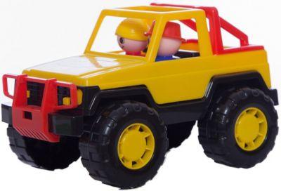 Автомобиль джип Сафари , желтый, Полесье