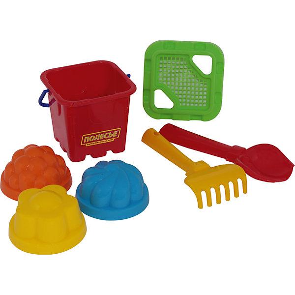Набор песочный №261, красный, ПолесьеИграем в песочнице<br>Характеристики товара:<br><br>• возраст: от 3 лет;<br>• материал: пластик;<br>• в комплекте: ведро, 3 формочки, совок, грабли;<br>• размер упаковки: 12,7х17,2х11,6 см;<br>• вес упаковки: 114 гр.;<br>• страна производитель: Беларусь.<br><br>Набор песочный № 261 Полесье красный разнообразит детские игры в песочнице. Ведерко поможет набирать песочек и переносить его, а с помощью формочек можно вылепить разнообразные фигурки. Ведерко закрывается крышкой, на которой есть 2 отверстия для совочка и граблей. Крышка выполнена в виде ситечка, через которое можно просеивать песок. Игрушки выполнены из качественного безопасного пластика.<br><br>Набор песочный № 261 Полесье красный можно приобрести в нашем интернет-магазине.<br><br>Ширина мм: 127<br>Глубина мм: 116<br>Высота мм: 172<br>Вес г: 114<br>Возраст от месяцев: 36<br>Возраст до месяцев: 2147483647<br>Пол: Унисекс<br>Возраст: Детский<br>SKU: 6866349