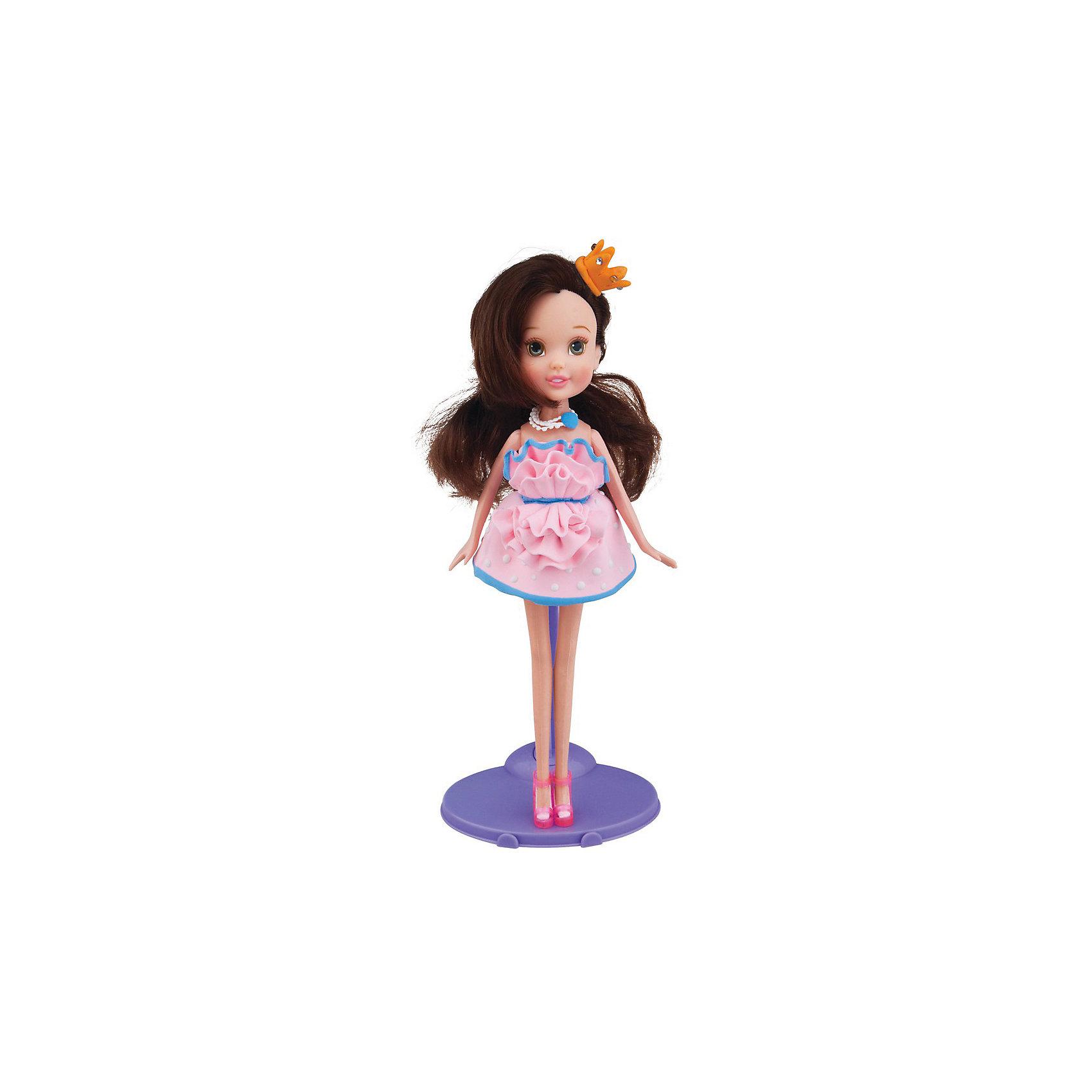 Набор для творчества с пластилином Fashion Dough и куклой Шатенка в розовом сарафанеЛепка<br>Сделайте чудесный подарок маленькой мастерице – набор для творчества от торговой марки Toy Target. В удобной упаковке ребенок найдет очаровательную куколку, удобные инструменты для моделирования, пластилин, обувь, держатель для куклы и подробную инструкцию.  Каждой девочке будет очень интересен процесс создания оригинальных нарядов из легкого, мягкого и гладкого пластилина. Масса для лепки безопасна для здоровья, гипоаллергенна и не содержит глютена.  Занятия с набором подарят отличное настроение и полезные навыки вашей малышке.  Рекомендованный возраст: от 6 лет. Размер упаковки: 18,6х5,8х29,4 см.  В комплекте: кукла-модель; масса для моделирования – 2 шт.; инструменты для моделирования – 2 шт.; обувь для куклы; держатель для куклы; инструкция.<br><br>Ширина мм: 186<br>Глубина мм: 58<br>Высота мм: 294<br>Вес г: 330<br>Возраст от месяцев: 72<br>Возраст до месяцев: 144<br>Пол: Женский<br>Возраст: Детский<br>SKU: 6867052