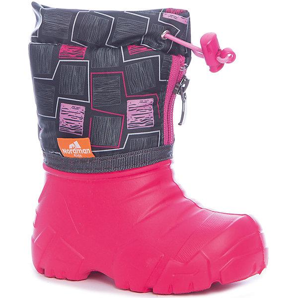 Сноубутсы для девочки NordmanСноубутсы<br>Характеристики товара:<br><br>• цвет: красный<br>• материал верха: текстиль (таслан)<br>• подклад: шерстяной мех<br>• стелька: шерстяной мех<br>• галоша: ЭВА<br>• сезон: зима<br>• температурный режим: от 0 до -15<br>• застежка: молния, утяжка<br>• непромокаемые<br>• подошва не скользит<br>• анатомические <br>• страна бренда: Россия<br>• страна изготовитель: Россия<br><br>Сноубутсы для девочки Nordman позволяют сохранить ноги в тепле и одновременно не дают им промокнуть. Такая обувь отлично подходит для снежной зимы или слякоти в межсезонье. <br><br>Высокое голенище из непромокаемой ткани с утяжкой предотвращает попадание снега в сапог. Меховая подкладка обеспечивает комфортные условия для ног благодаря способности материала впитывать влагу.<br><br>Сноубутсы для девочки Nordman (Нордман) можно купить в нашем интернет-магазине.<br><br>Ширина мм: 257<br>Глубина мм: 180<br>Высота мм: 130<br>Вес г: 420<br>Цвет: розовый<br>Возраст от месяцев: 18<br>Возраст до месяцев: 21<br>Пол: Женский<br>Возраст: Детский<br>Размер: 22/23,34/35,32/33,30/31,28/29,26/27,24/25<br>SKU: 6867213