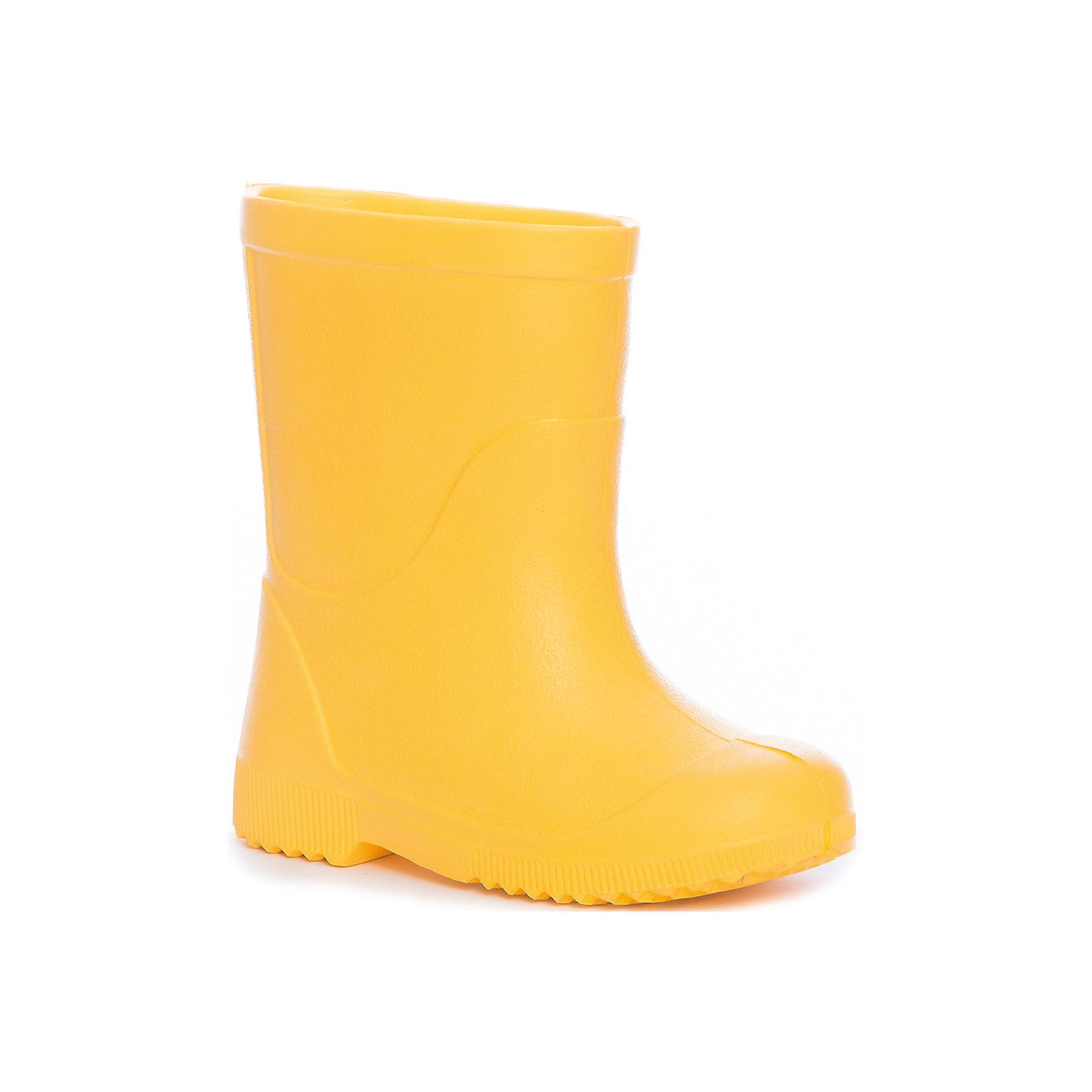 Резиновые сапоги NordmanРезиновые сапоги<br>Характеристики товара:<br><br>• цвет: желтый<br>• материал верха: ЭВА<br>• подклад: ЭВА<br>• стелька: ЭВА<br>• подошва: ЭВА<br>• сезон: демисезон<br>• температурный режим: от +10<br>• непромокаемые<br>• подошва не скользит<br>• анатомические <br>• страна бренда: Россия<br>• страна изготовитель: Россия<br><br>Резиновые сапоги желтого цвета. Сапоги выполнены их ЭВА материала, что делает их очень легкими. Резиновые на рифленой подошве, без подкладки. <br><br>Резиновые сапоги Nordman (Нордман) можно купить в нашем интернет-магазине.<br><br>Ширина мм: 257<br>Глубина мм: 180<br>Высота мм: 130<br>Вес г: 420<br>Цвет: желтый<br>Возраст от месяцев: 132<br>Возраст до месяцев: 144<br>Пол: Унисекс<br>Возраст: Детский<br>Размер: 34/35,22/23,24/25,26/27,28/29,30/31,32/33<br>SKU: 6867261