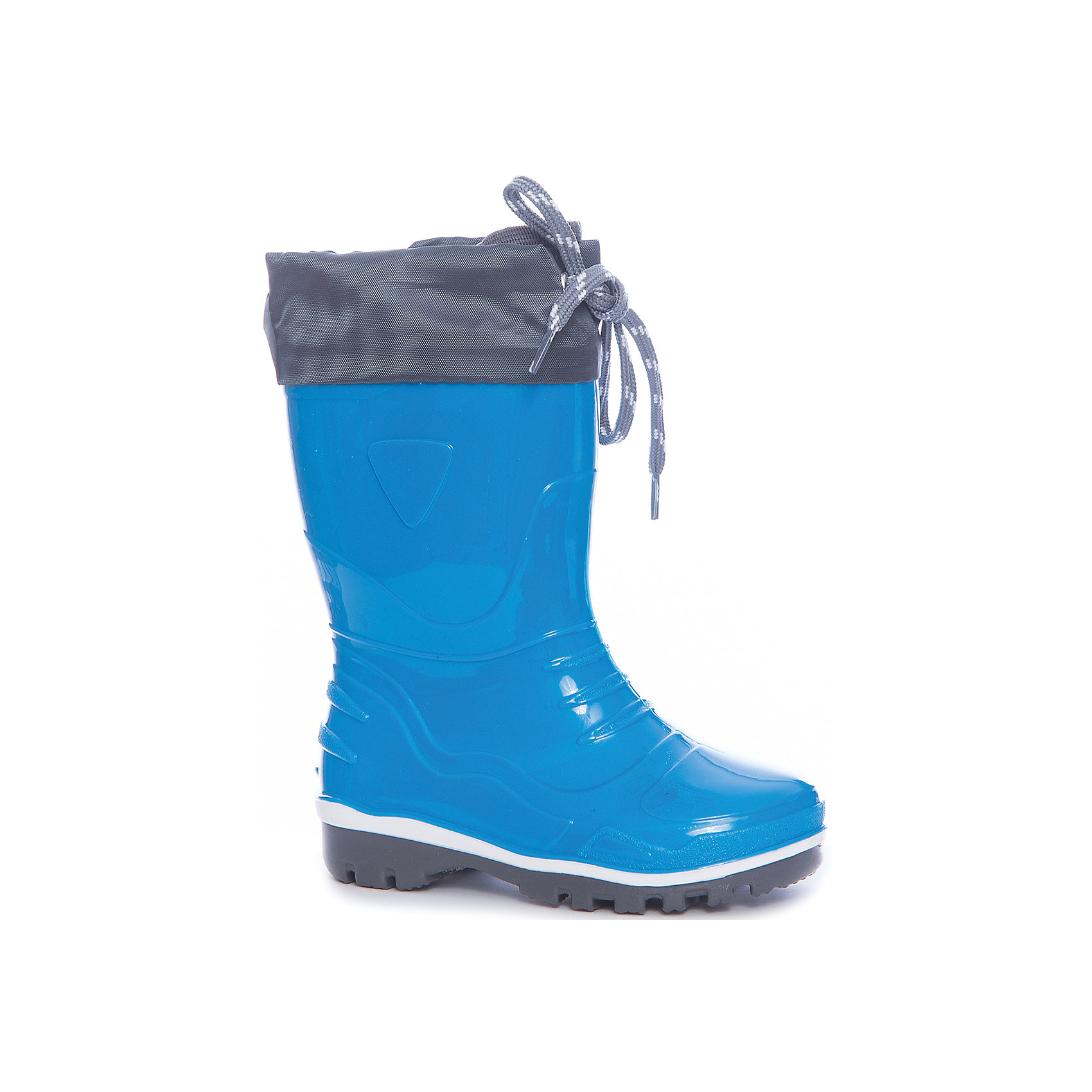 Резиновые сапоги для мальчика NordmanРезиновые сапоги<br>Характеристики товара:<br><br>• цвет: синий<br>• материал верха: ПВХ<br>• подклад: текстиль<br>• стелька: текстиль<br>• подошва: ПВХ<br>• сезон: лето, демисезон<br>• температурный режим: от +5 до +25<br>• сапожок не съемный<br>• непромокаемые<br>• подошва не скользит<br>• анатомические <br>• страна бренда: Россия<br>• страна изготовитель: Россия<br><br>Резиновые сапоги для мальчика Nordman позволяют сохранить ноги в тепле и одновременно не дают им промокнуть. Такая обувь отлично подходит и для теплого лета и для слякоти в межсезонье. <br><br>Высокое голенище предотвращает попадание влаги или грязи в сапог. Толстая устойчивая подошва позволяет ребенку увереннее держать равновесие.<br><br>Резиновые сапоги для мальчика Nordman (Нордман) можно купить в нашем интернет-магазине.<br><br>Ширина мм: 237<br>Глубина мм: 180<br>Высота мм: 152<br>Вес г: 438<br>Цвет: синий<br>Возраст от месяцев: 15<br>Возраст до месяцев: 18<br>Пол: Мужской<br>Возраст: Детский<br>Размер: 22,26,25,24,23<br>SKU: 6867503