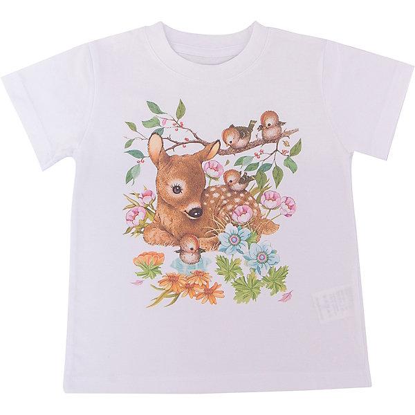Футболка для девочки WOWФутболки, поло и топы<br>Футболка для девочки WOW<br>Незаменимой вещью в  гардеробе послужит футболка с коротким рукавом. Стильная и в тоже время комфортная модель, с яркой оригинальной печатью, будет превосходно смотреться на ребенке.<br>Состав:<br>кулирная гладь 100% хлопок<br>Ширина мм: 199; Глубина мм: 10; Высота мм: 161; Вес г: 151; Цвет: белый; Возраст от месяцев: 24; Возраст до месяцев: 36; Пол: Женский; Возраст: Детский; Размер: 98,122,116,110,104; SKU: 6871533;
