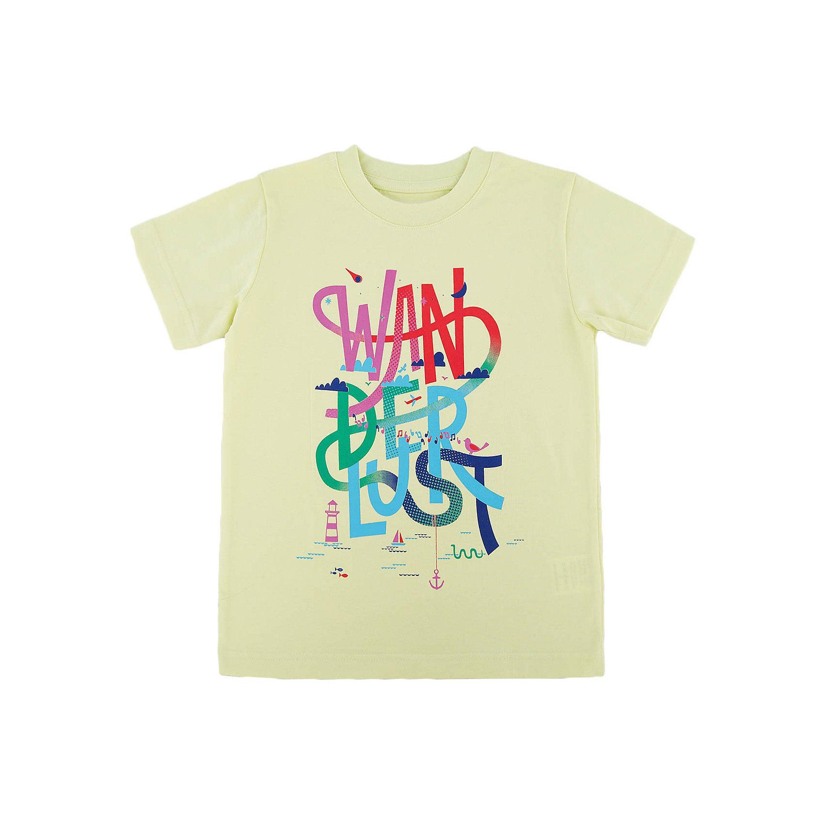 Футболка для мальчика WOWФутболки, поло и топы<br>Футболка для мальчика WOW<br>Незаменимой вещью в  гардеробе послужит футболка с коротким рукавом. Стильная и в тоже время комфортная модель, с яркой оригинальной печатью, будет превосходно смотреться на ребенке.<br>Состав:<br>кулирная гладь 100% хлопок<br><br>Ширина мм: 199<br>Глубина мм: 10<br>Высота мм: 161<br>Вес г: 151<br>Цвет: зеленый<br>Возраст от месяцев: 72<br>Возраст до месяцев: 84<br>Пол: Мужской<br>Возраст: Детский<br>Размер: 122,98,104,110,116<br>SKU: 6871551