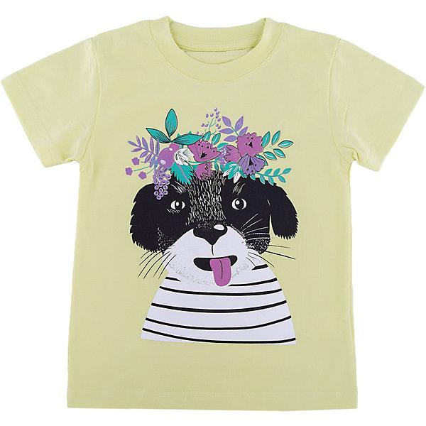 Футболка для девочки WOWФутболки, поло и топы<br>Футболка для девочки WOW<br>Незаменимой вещью в  гардеробе послужит футболка с коротким рукавом. Стильная и в тоже время комфортная модель, с яркой оригинальной печатью, будет превосходно смотреться на ребенке.<br>Состав:<br>кулирная гладь 100% хлопок<br><br>Ширина мм: 199<br>Глубина мм: 10<br>Высота мм: 161<br>Вес г: 151<br>Цвет: зеленый<br>Возраст от месяцев: 24<br>Возраст до месяцев: 36<br>Пол: Женский<br>Возраст: Детский<br>Размер: 98,122,116,110,104<br>SKU: 6871557