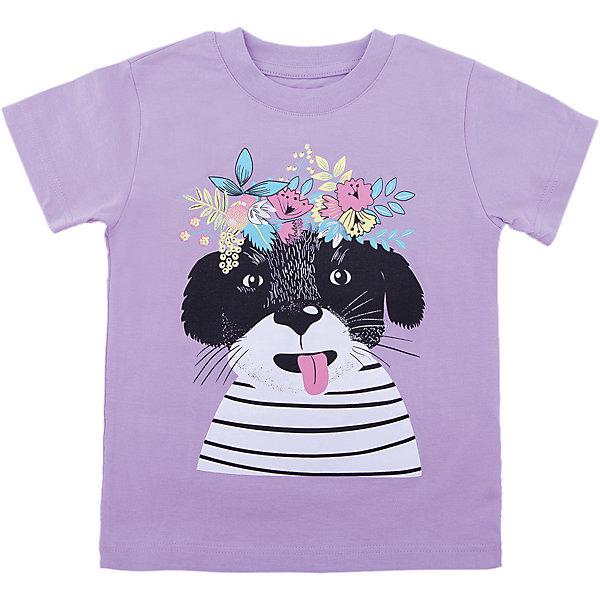 Футболка для девочки WOWФутболки, поло и топы<br>Футболка для девочки WOW<br>Незаменимой вещью в  гардеробе послужит футболка с коротким рукавом. Стильная и в тоже время комфортная модель, с яркой оригинальной печатью, будет превосходно смотреться на ребенке.<br>Состав:<br>кулирная гладь 100% хлопок<br>Ширина мм: 199; Глубина мм: 10; Высота мм: 161; Вес г: 151; Цвет: лиловый; Возраст от месяцев: 72; Возраст до месяцев: 84; Пол: Женский; Возраст: Детский; Размер: 122,98,104,110,116; SKU: 6871569;