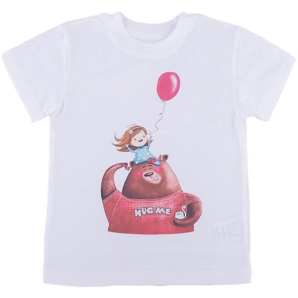 Футболка для девочки WOWФутболки, поло и топы<br>Футболка для девочки WOW<br>Незаменимой вещью в  гардеробе послужит футболка с коротким рукавом. Стильная и в тоже время комфортная модель, с яркой оригинальной печатью, будет превосходно смотреться на ребенке.<br>Состав:<br>кулирная гладь 100% хлопок<br><br>Ширина мм: 199<br>Глубина мм: 10<br>Высота мм: 161<br>Вес г: 151<br>Цвет: белый<br>Возраст от месяцев: 24<br>Возраст до месяцев: 36<br>Пол: Женский<br>Возраст: Детский<br>Размер: 98,122,116,110,104<br>SKU: 6871575