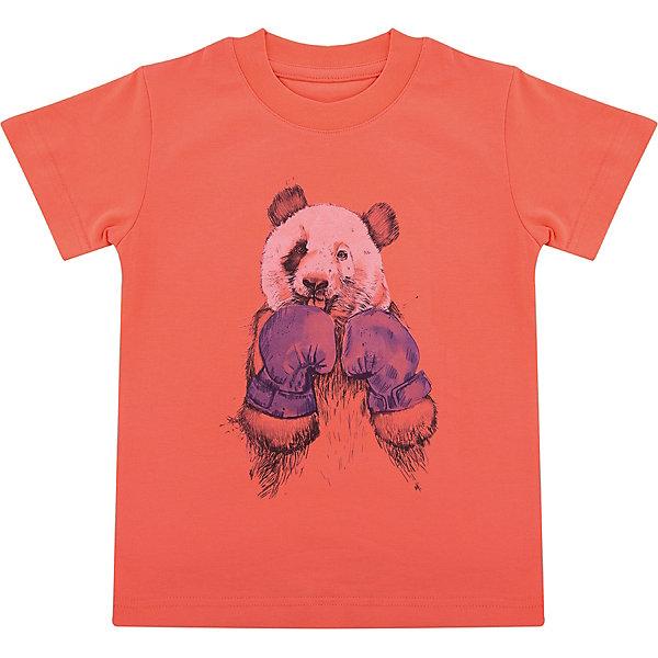 Футболка для мальчика WOWФутболки, поло и топы<br>Футболка для мальчика WOW<br>Незаменимой вещью в  гардеробе послужит футболка с коротким рукавом. Стильная и в тоже время комфортная модель, с яркой оригинальной печатью, будет превосходно смотреться на ребенке.<br>Состав:<br>кулирная гладь 100% хлопок<br><br>Ширина мм: 199<br>Глубина мм: 10<br>Высота мм: 161<br>Вес г: 151<br>Цвет: оранжевый<br>Возраст от месяцев: 72<br>Возраст до месяцев: 84<br>Пол: Мужской<br>Возраст: Детский<br>Размер: 122,116,110,104,98<br>SKU: 6871581