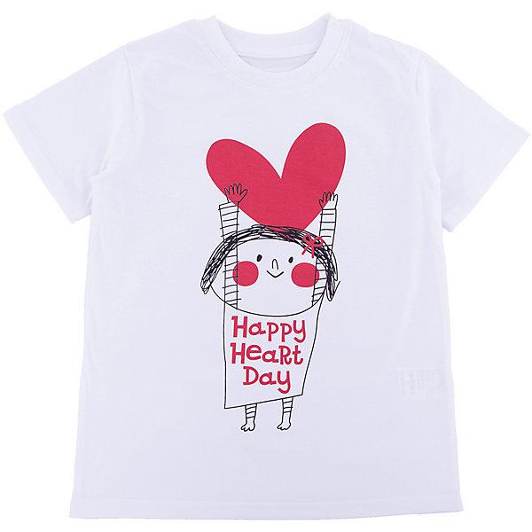 Футболка для девочки WOWФутболки, поло и топы<br>Футболка для девочки WOW<br>Незаменимой вещью в  гардеробе послужит футболка с коротким рукавом. Стильная и в тоже время комфортная модель, с яркой оригинальной печатью, будет превосходно смотреться на ребенке.<br>Состав:<br>кулирная гладь 100% хлопок<br><br>Ширина мм: 199<br>Глубина мм: 10<br>Высота мм: 161<br>Вес г: 151<br>Цвет: белый<br>Возраст от месяцев: 24<br>Возраст до месяцев: 36<br>Пол: Женский<br>Возраст: Детский<br>Размер: 98,122,116,110,104<br>SKU: 6871594
